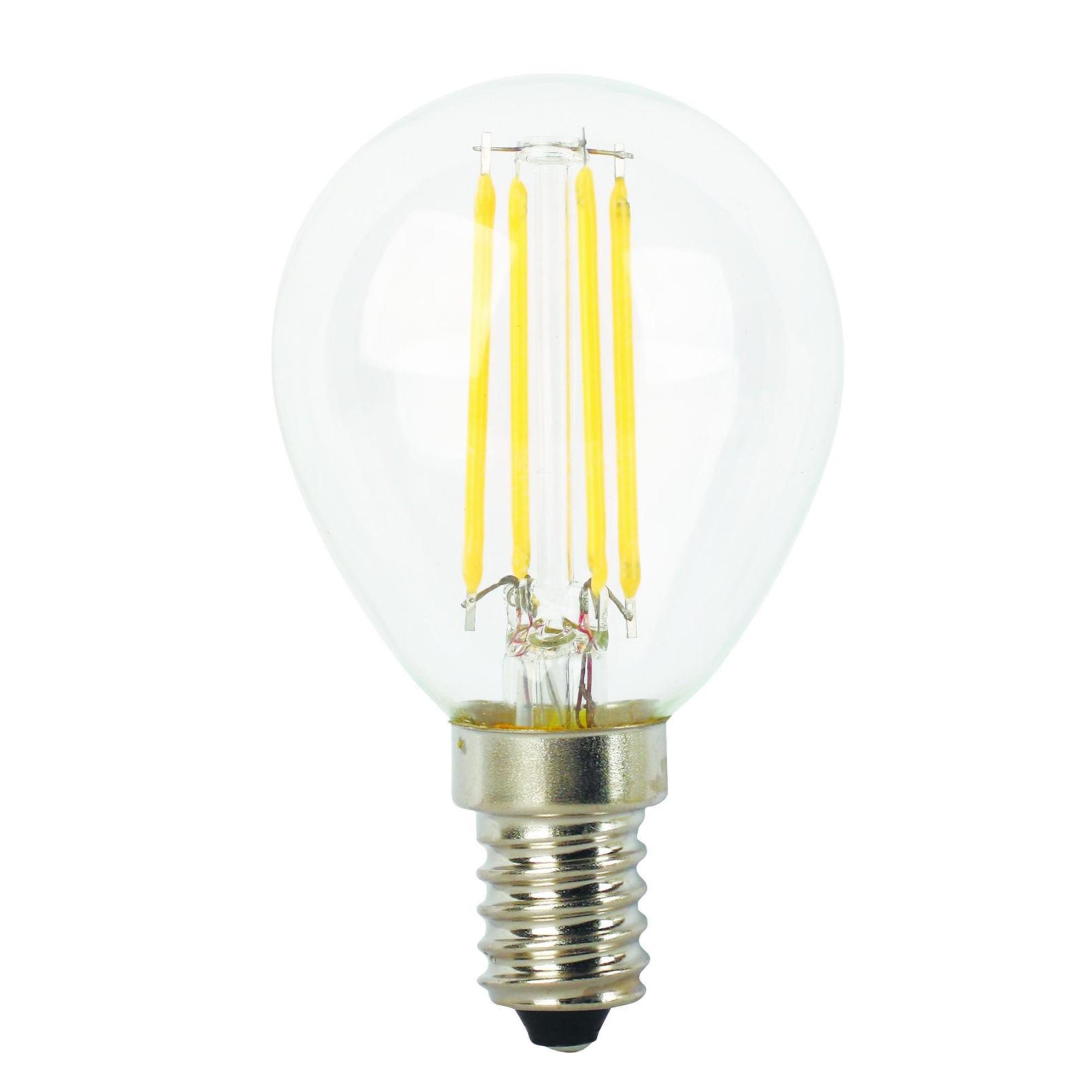 Лампа Ecola Premium светодионая E14 5 Вт шар 500 Лм нейтральный свет