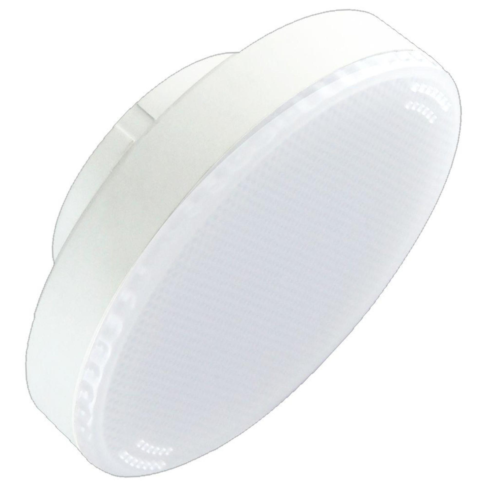 Лампа Ecola стандарт светодионая GX53 6 Вт таблетка 480 Лм теплый свет