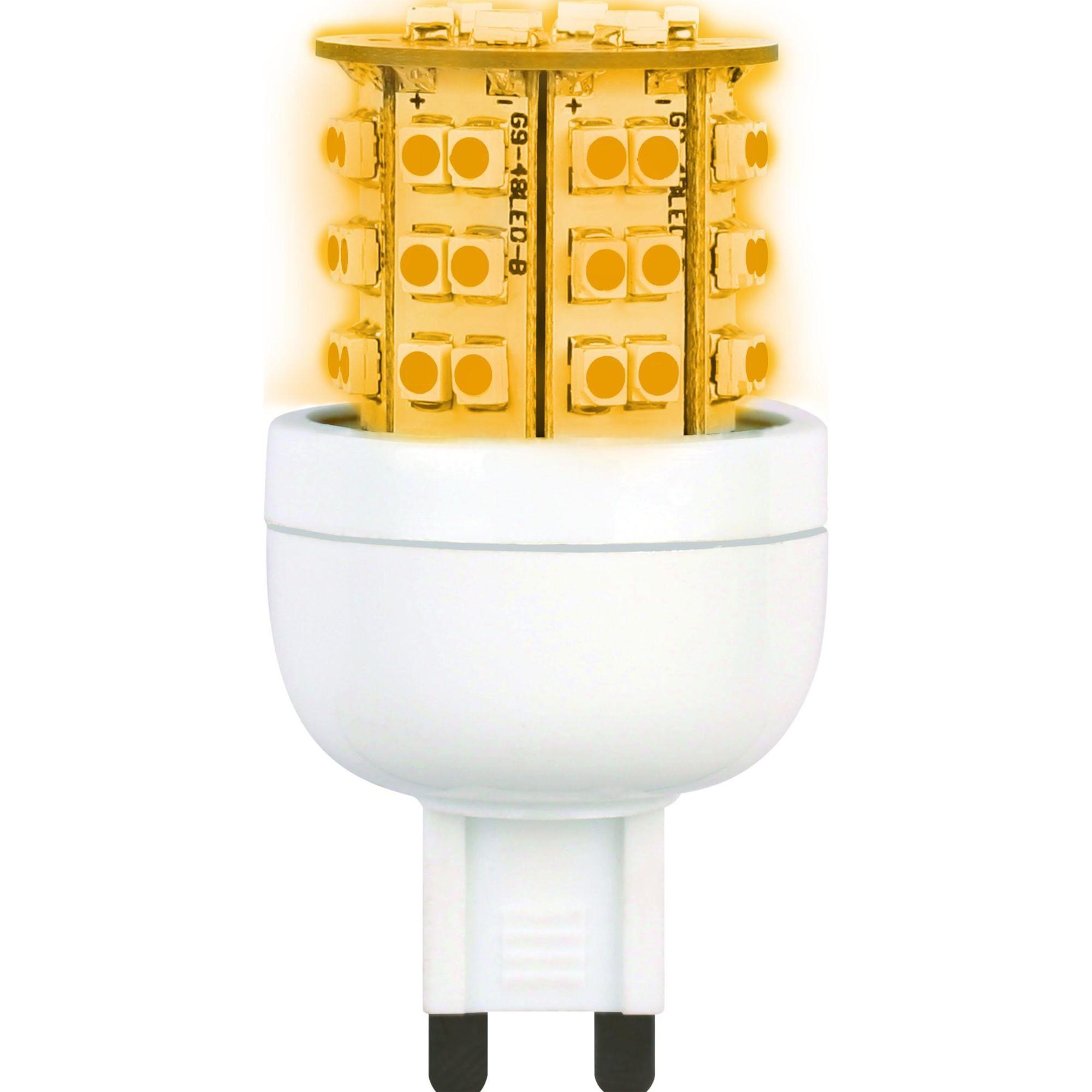 Лампа Ecola Premium светодионая G9 3.60 Вт капсула 320 Лм теплый свет