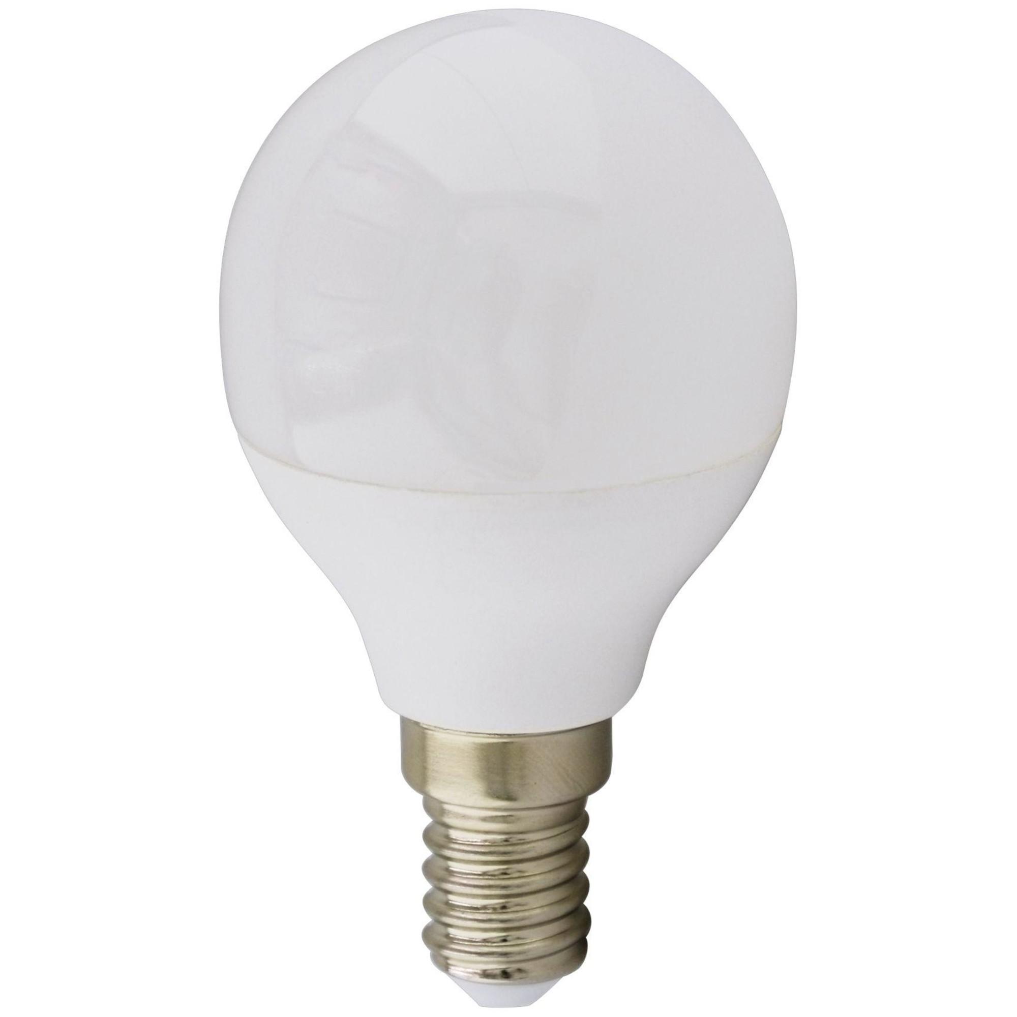Лампа Ecola Premium светодионая E14 5.40 Вт шар 430 Лм нейтральный свет