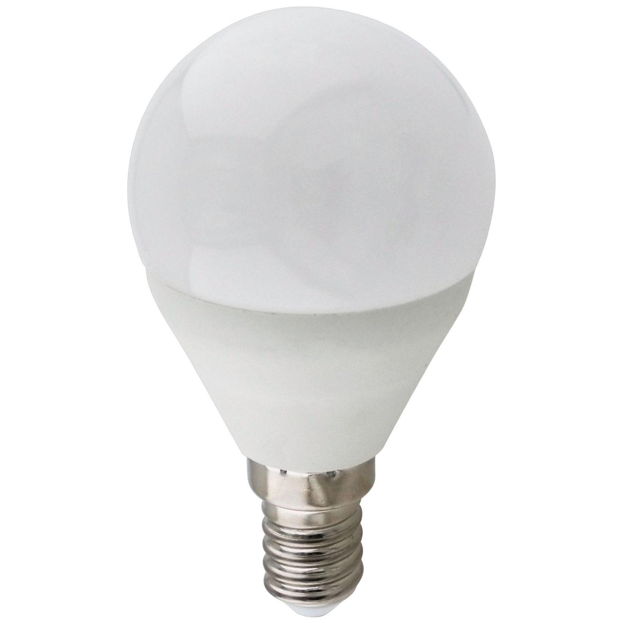 Лампа Ecola Premium светодионая E14 9 Вт шар 810 Лм теплый свет