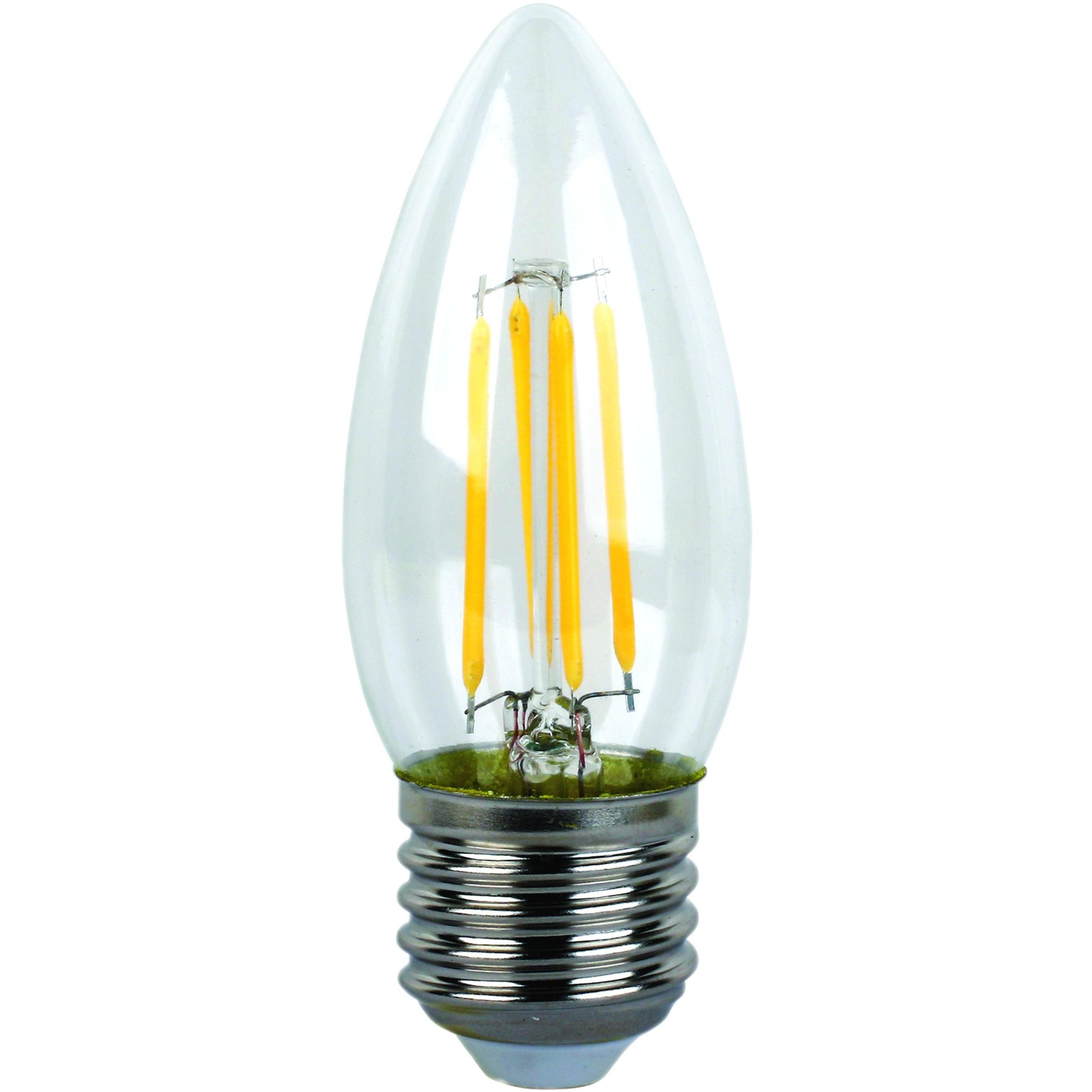 Лампа Ecola Premium светодионая E27 5 Вт свеча 500 Лм нейтральный свет