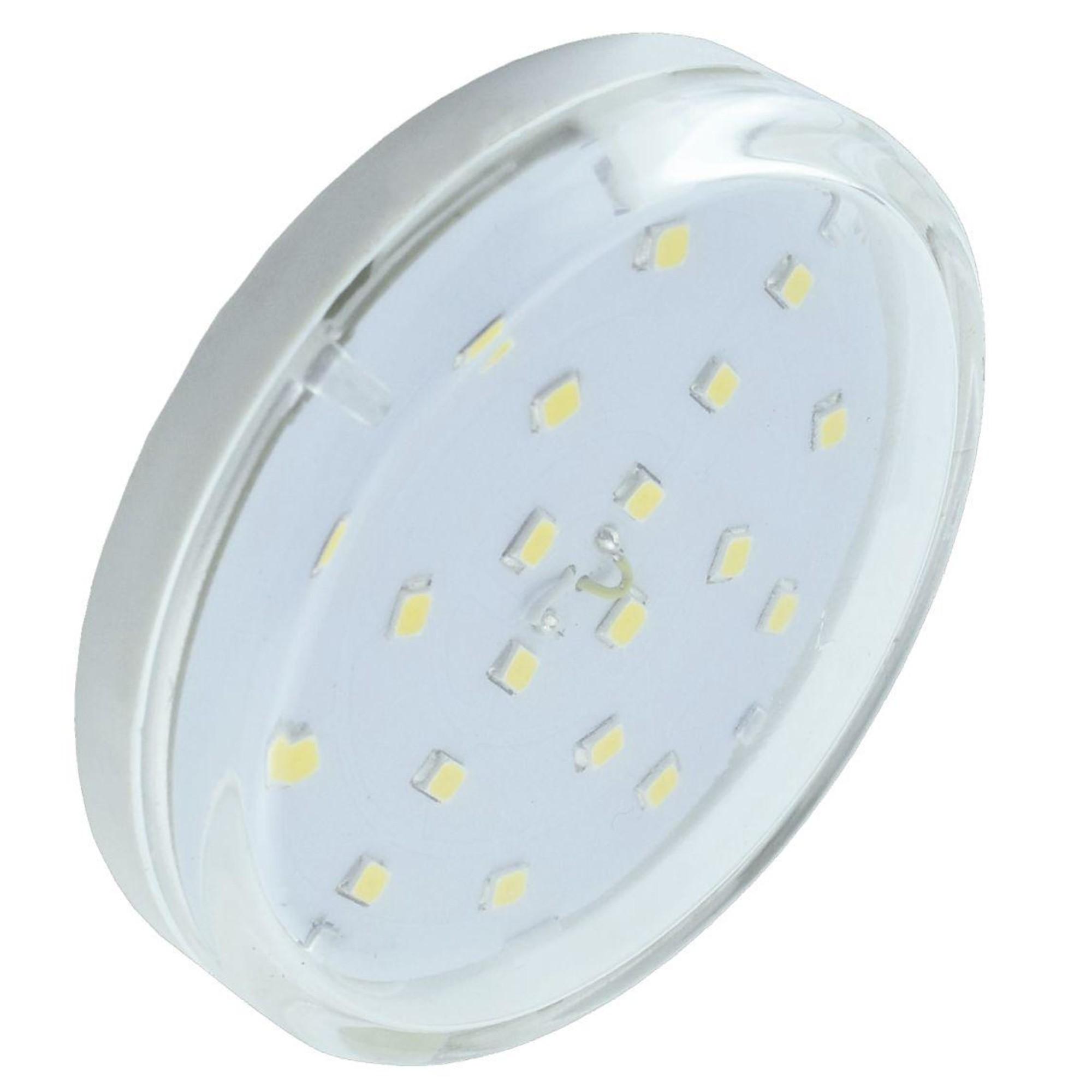 Лампа Ecola light светодионая GX53 4.20 Вт таблетка 290 Лм нейтральный свет