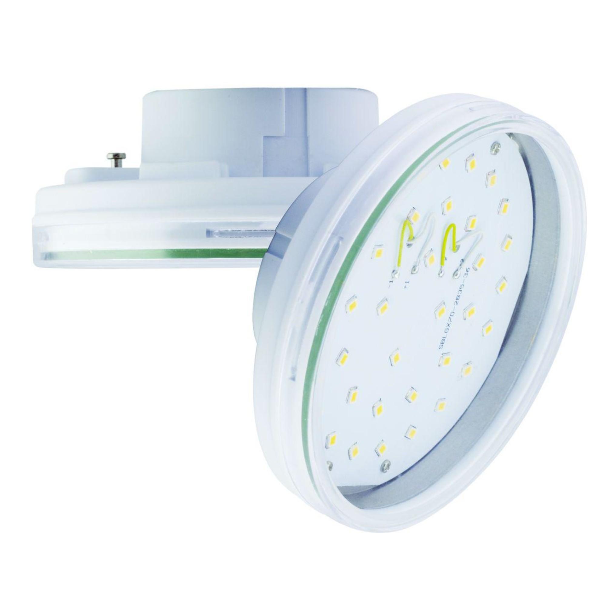 Лампа Ecola стандарт светодионая GX70 20 Вт таблетка 1600 Лм теплый свет