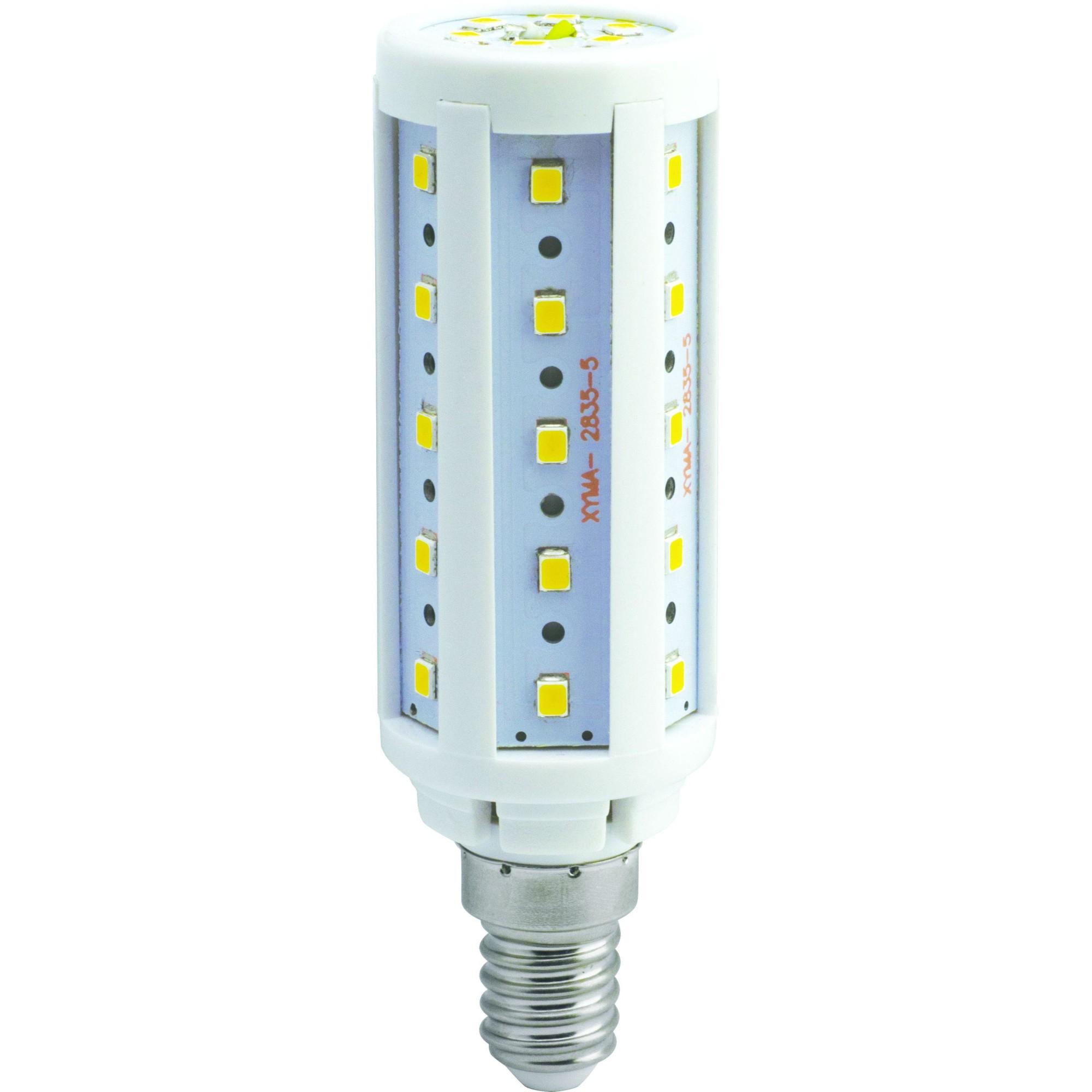 Лампа Ecola Premium светодионая E14 9.50 Вт кукуруза 855 Лм нейтральный свет