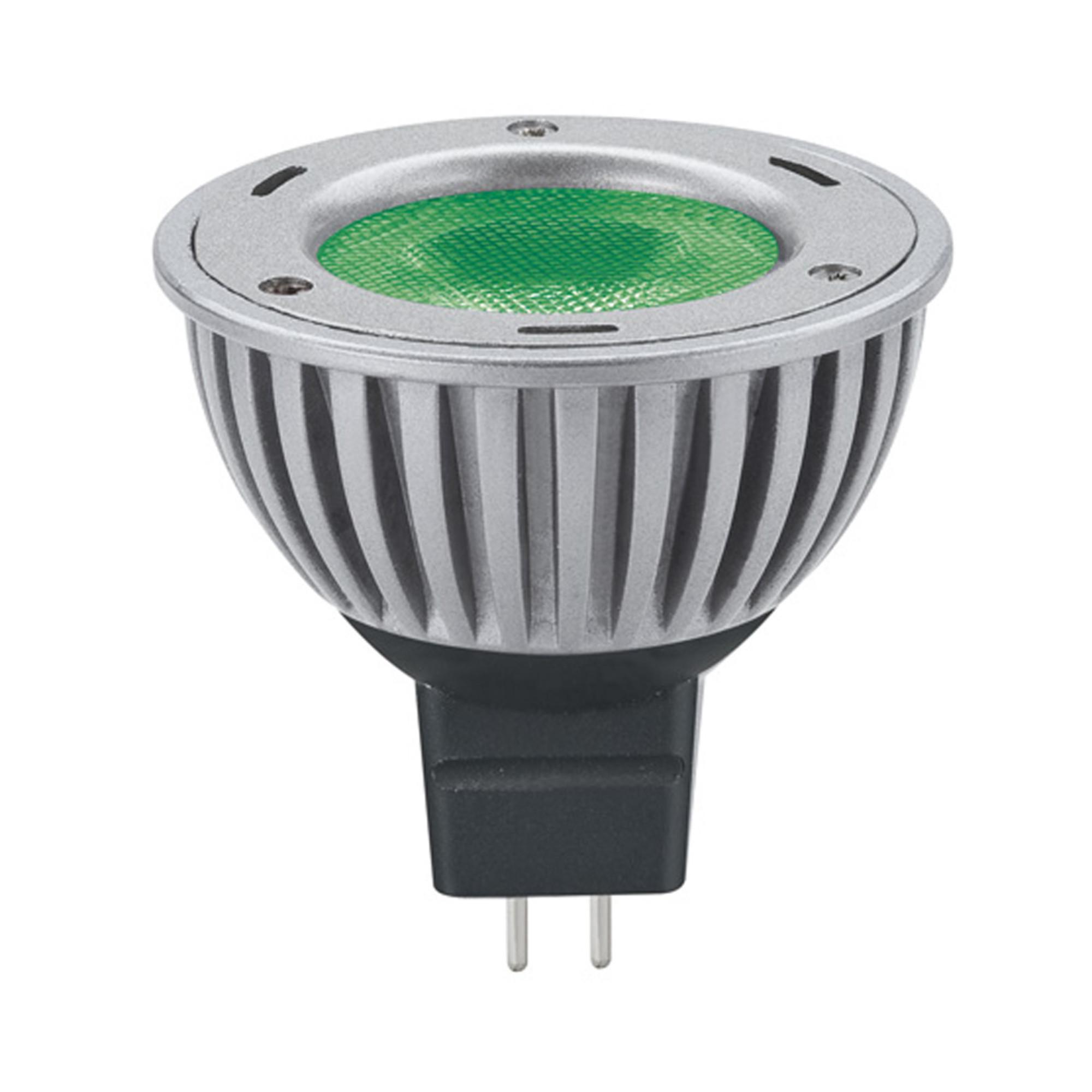Лампа светодиодная Paulmann 28059 GU5.3 60 Лм зеленый свет