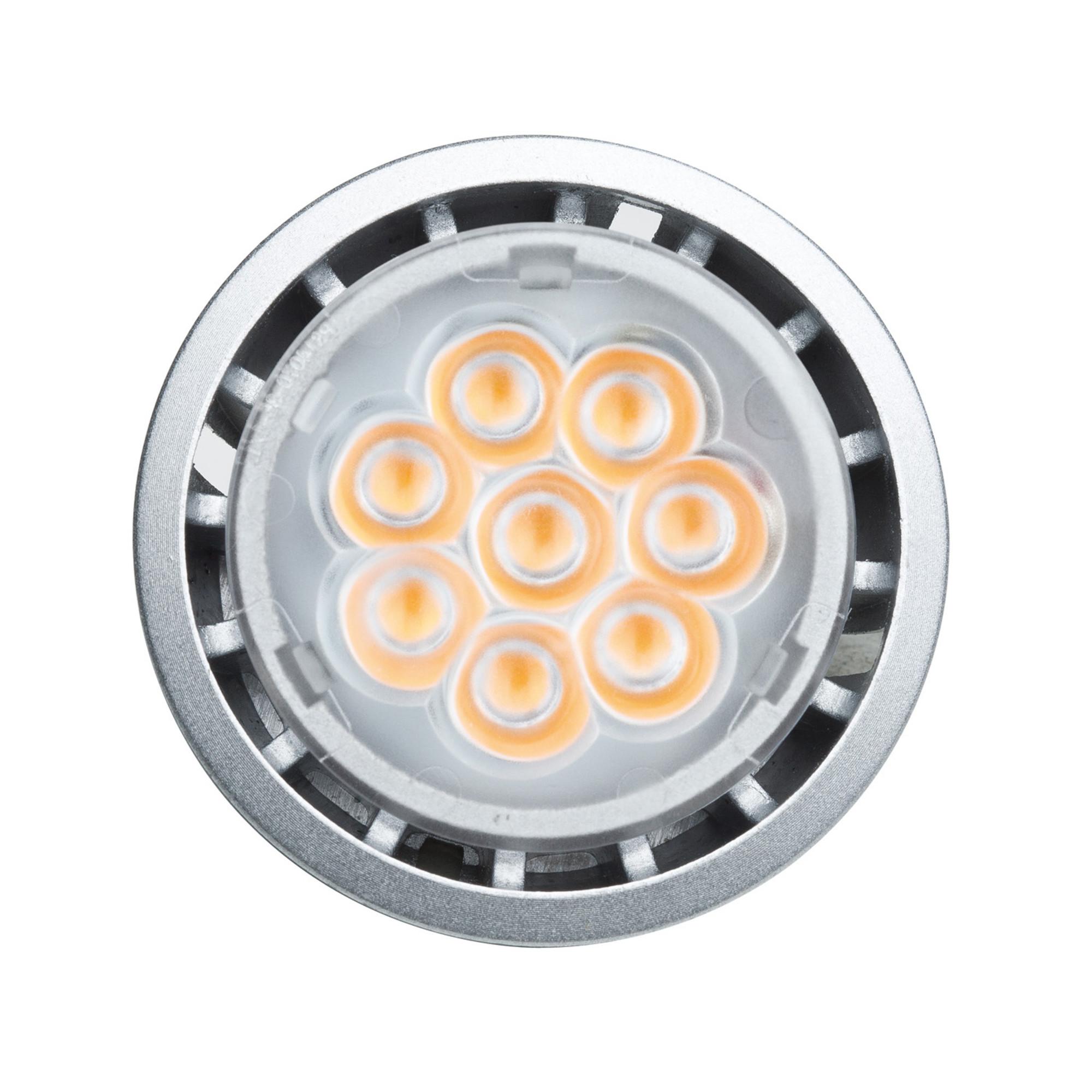 Лампа светодиодная Paulmann 28206 GU10 430 Лм теплый свет