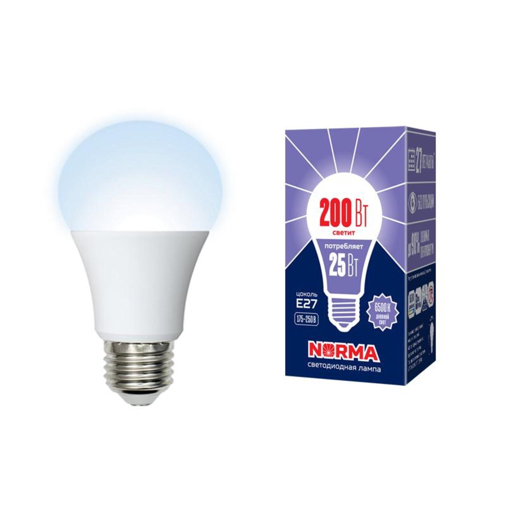 Лампа Volpe светодиодная E27 25 Вт нейтральный свет