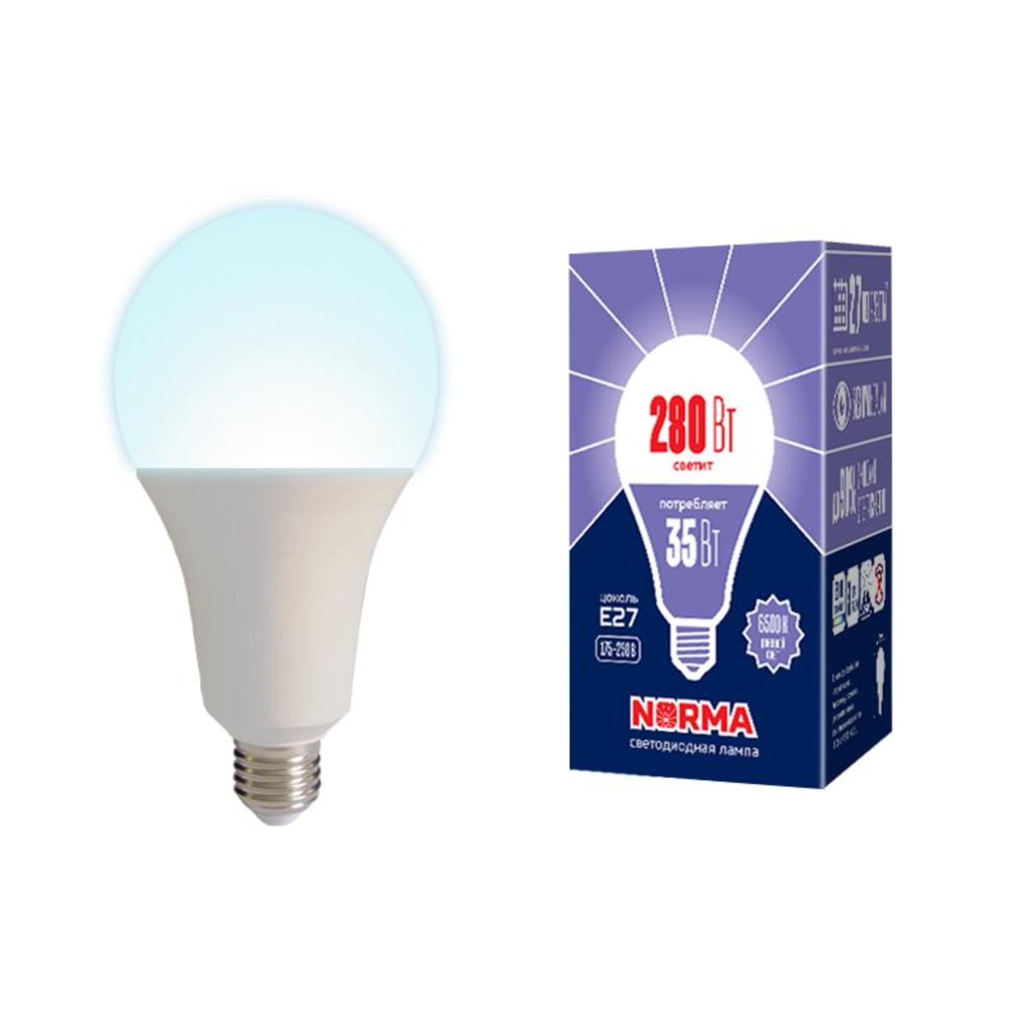 Лампа Volpe светодиодная E27 35 Вт нейтральный свет