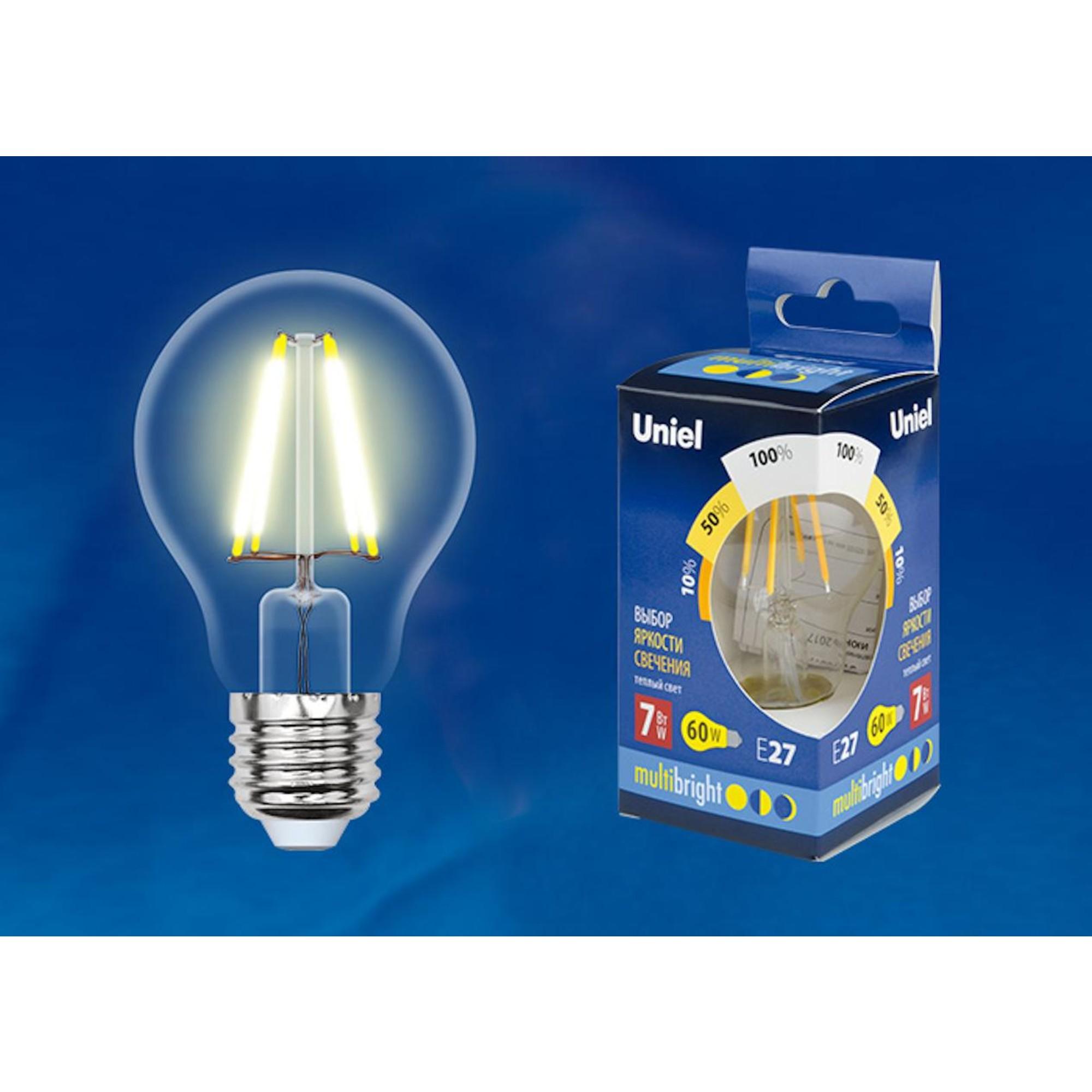 Светодиодная лампочка Uniel LED-A60-7W Multibright UL-00002366