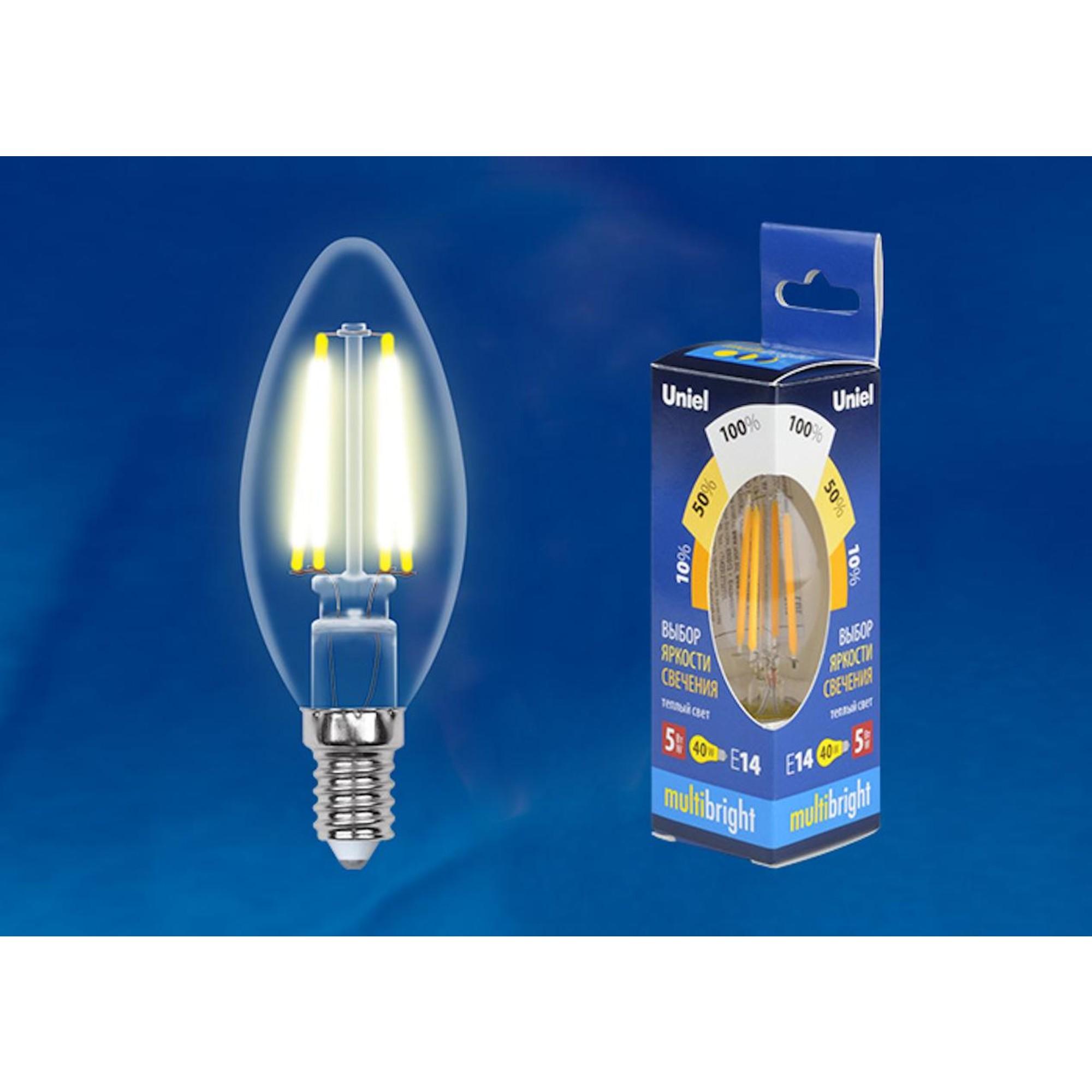 Светодиодная лампочка Uniel LED-C35-5W Multibright UL-00002367