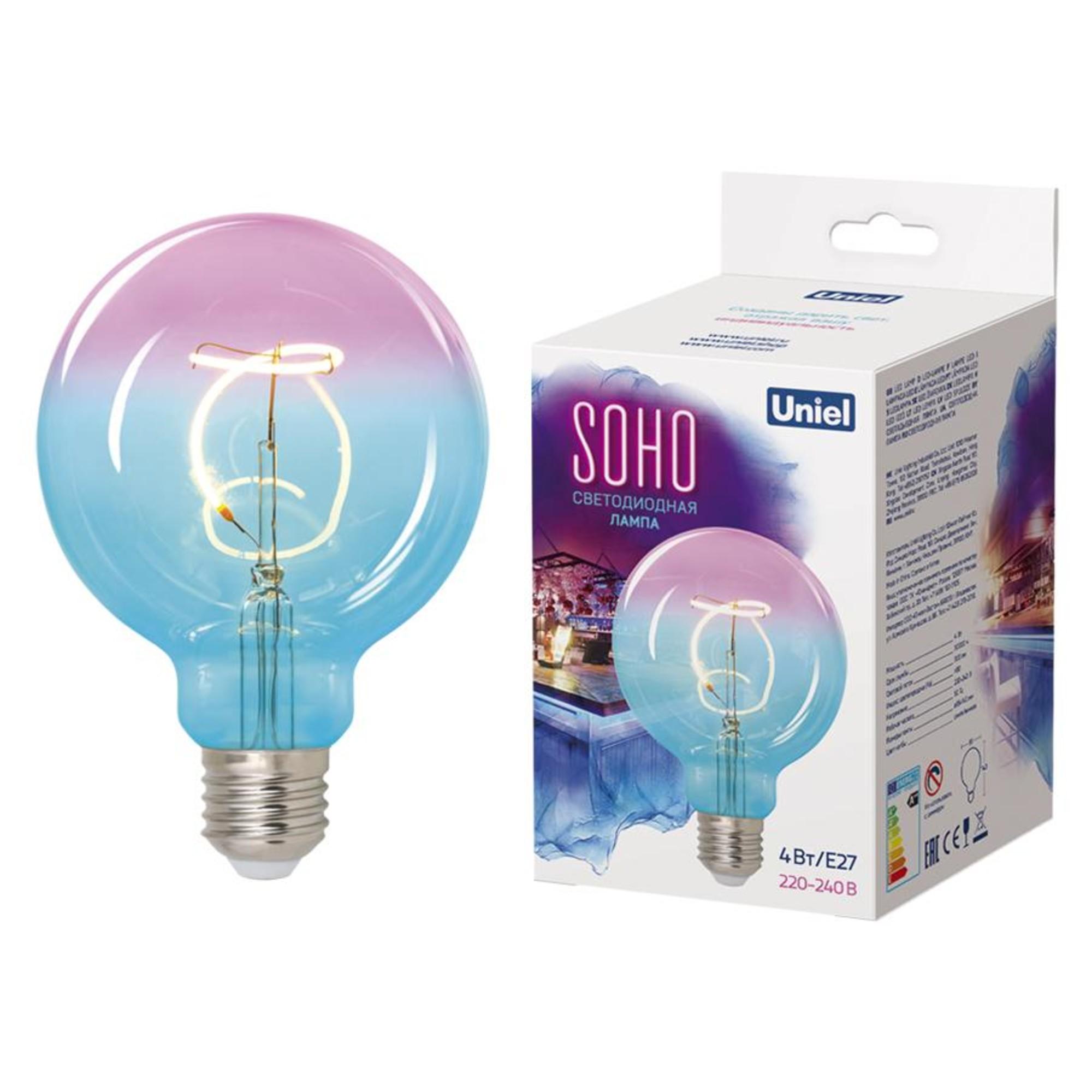 Светодиодная лампочка Uniel LED-SF01-4W SONO UL-00005892