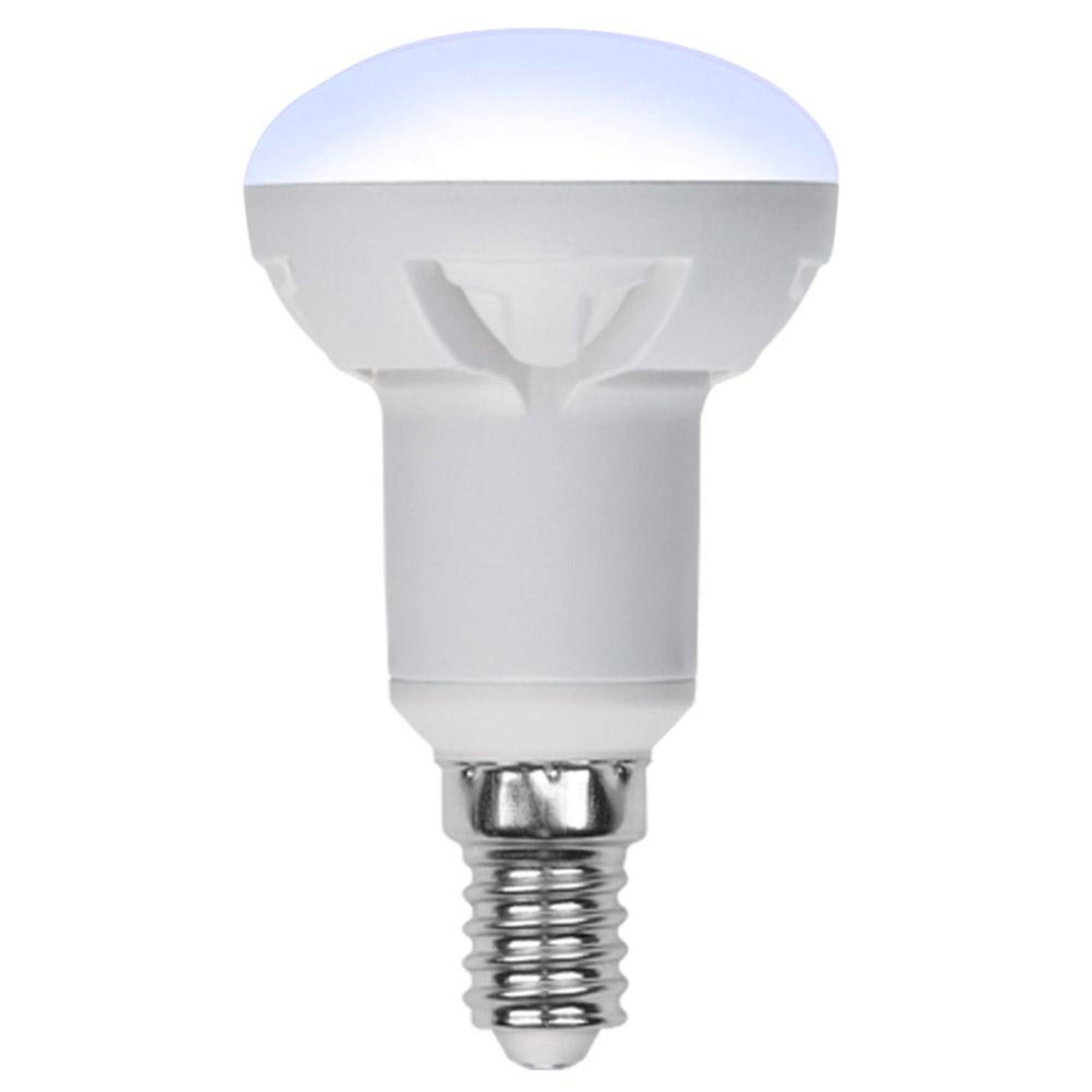 Лампа светодиодная Uniel Яркая Dimmable E14 рефлекторная 600 Лм 7 Вт теплый белый (желтый)