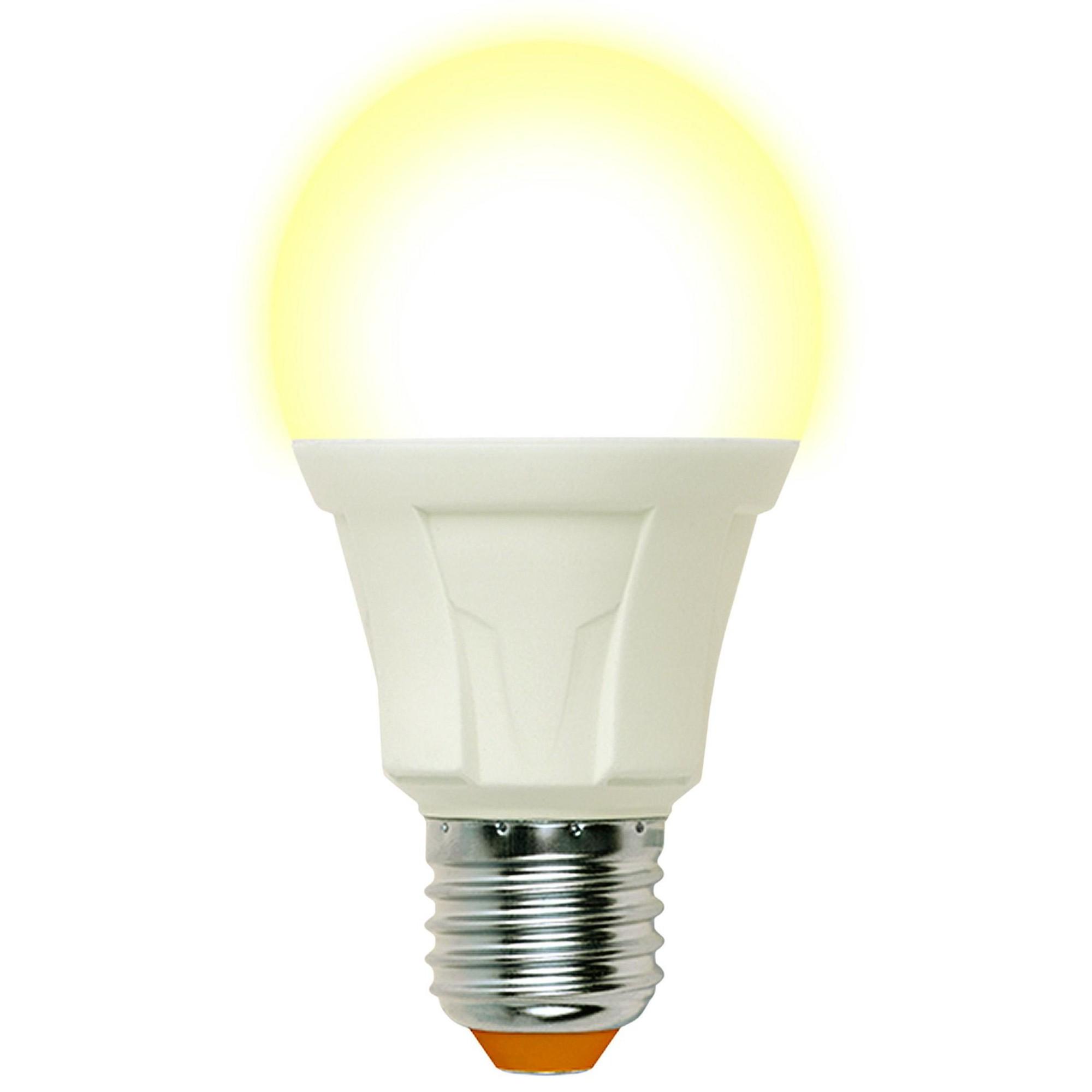 Лампа светодиодная Uniel Яркая E27 груша 1280 Лм 16 Вт холодный белый (голубой)