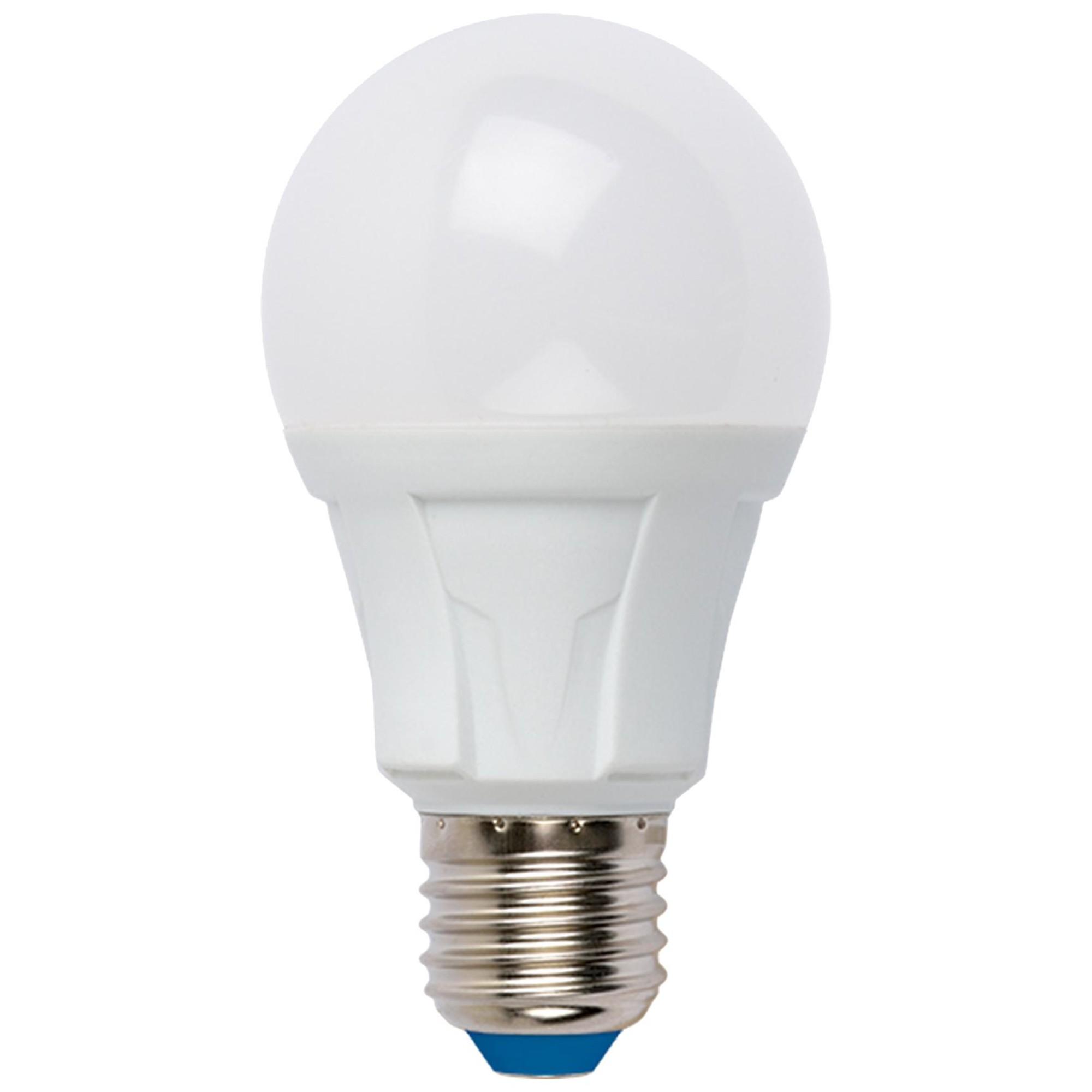 Лампа светодиодная Uniel Яркая E27 груша 700 Лм 8 Вт холодный белый (голубой)