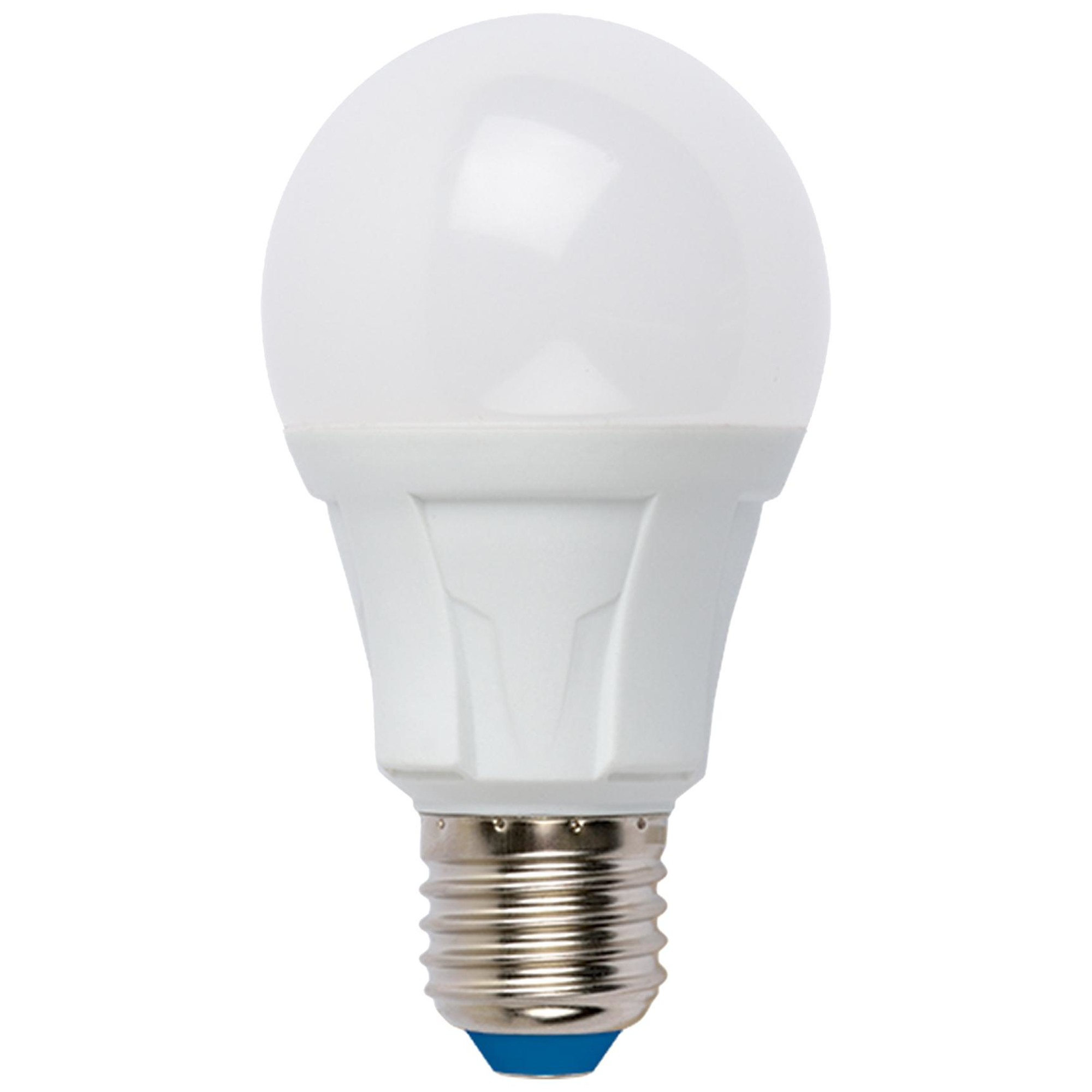 Лампа светодиодная Uniel Яркая E27 груша 700 Лм 8 Вт теплый белый (желтый)