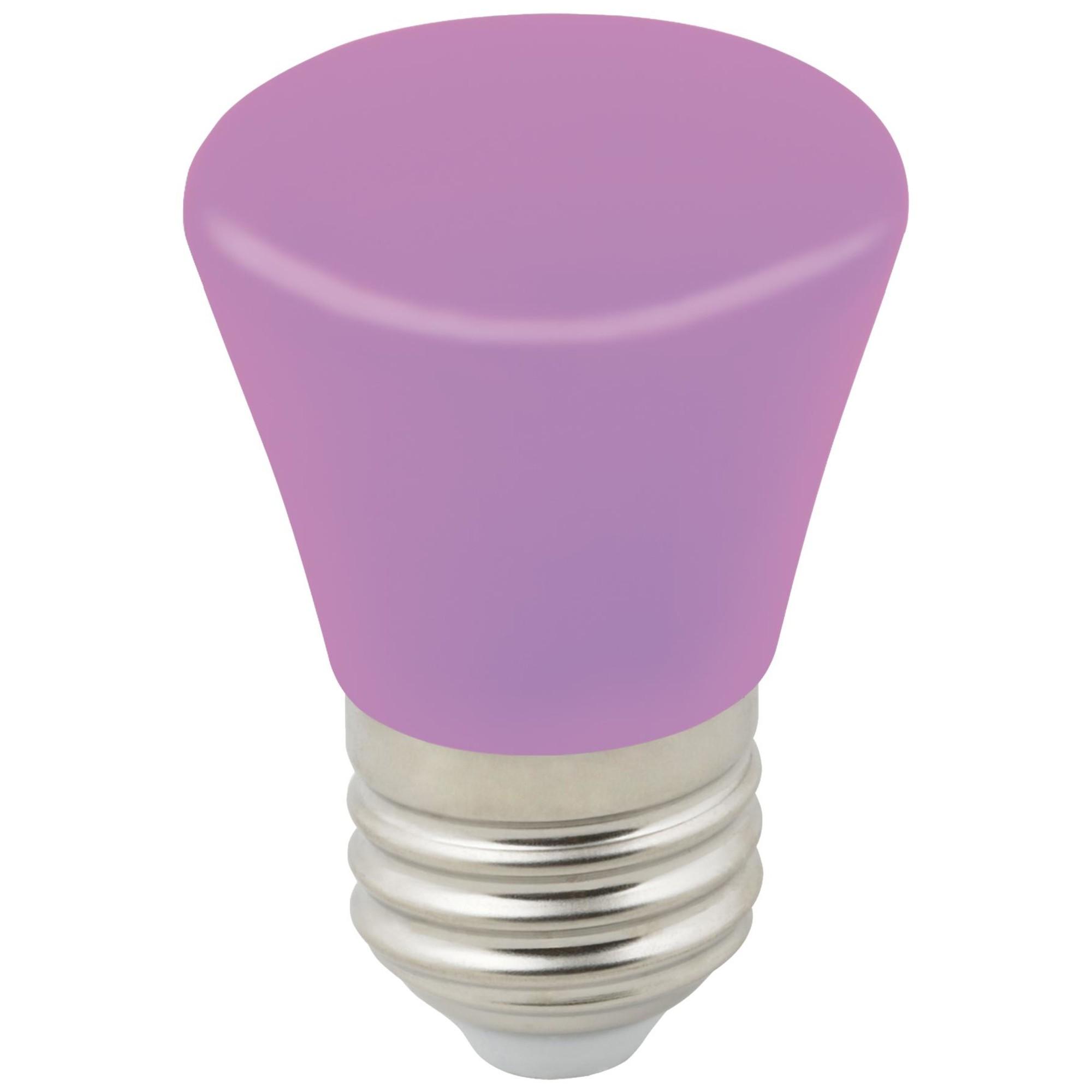 Лампа светодиодная Volpe Décor Color E27 колокольчик  Лм 1 Вт многоцветный