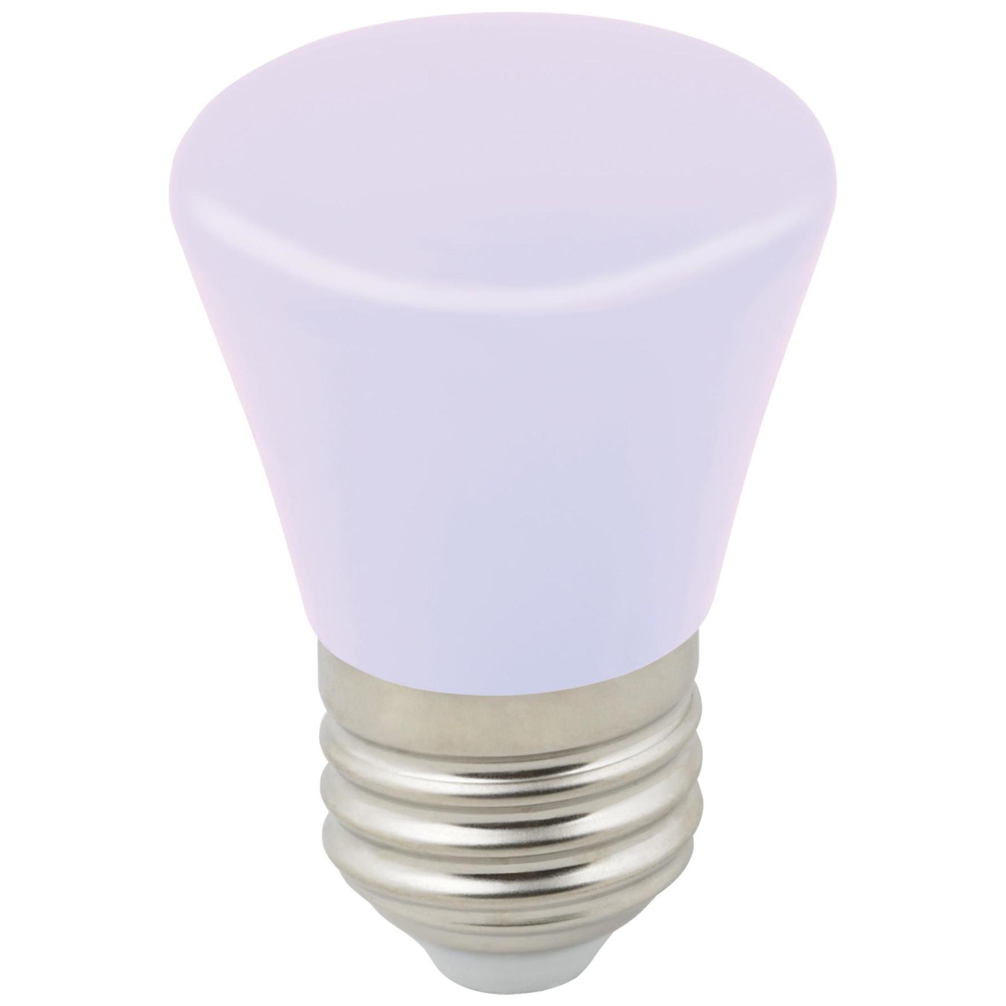 Лампа светодиодная Volpe Décor Color E27 колокольчик  Лм 1 Вт изменение цвета rgb