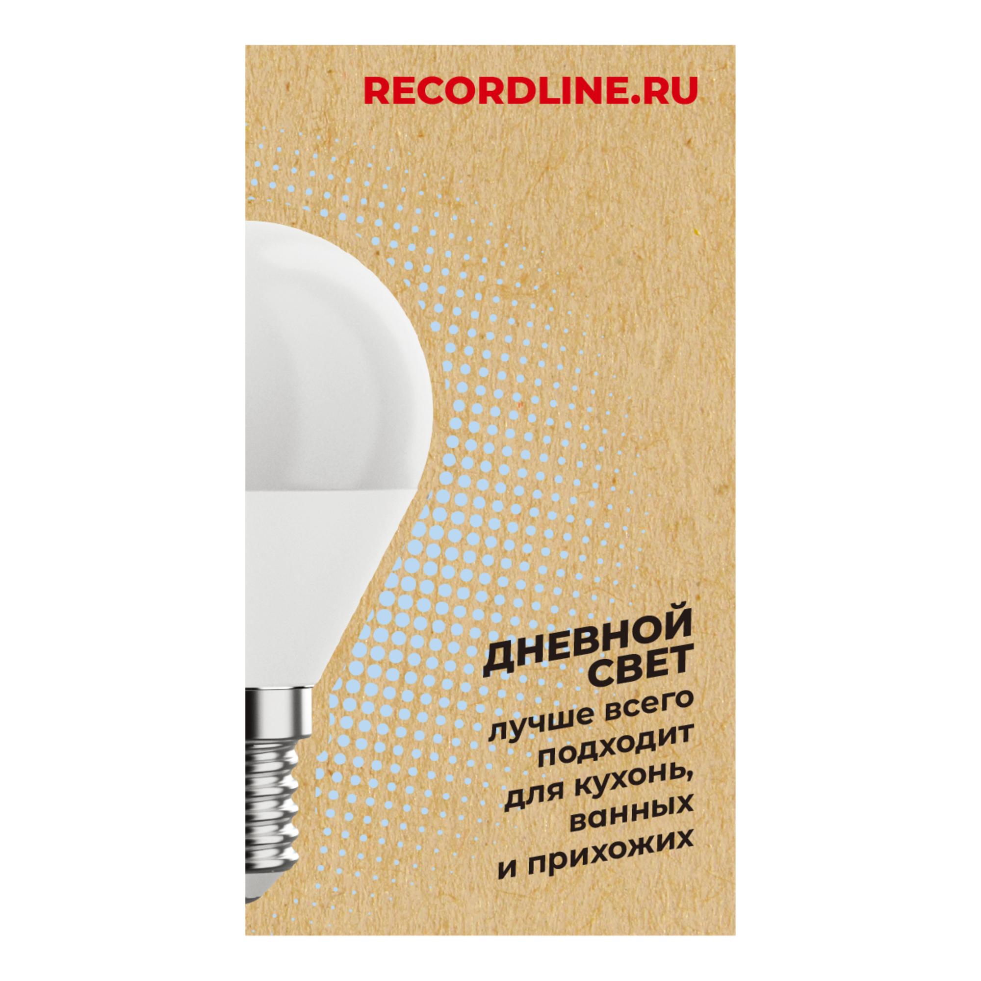 Светодиодная лампочка Рекорд 23884 E14 70 Лм 7 Вт