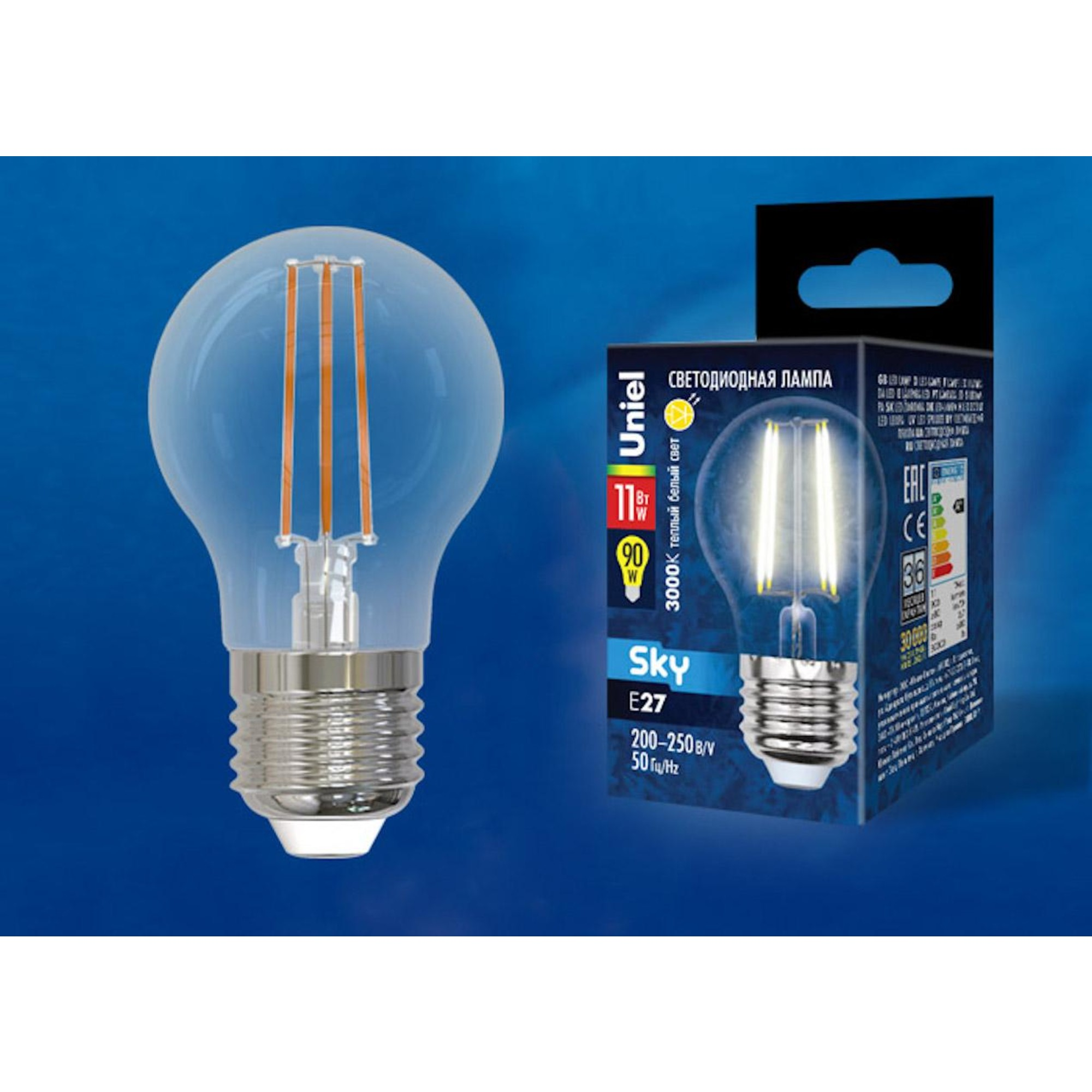 Светодиодная лампочка Uniel UL-00005178 E27 900 Лм 11 Вт