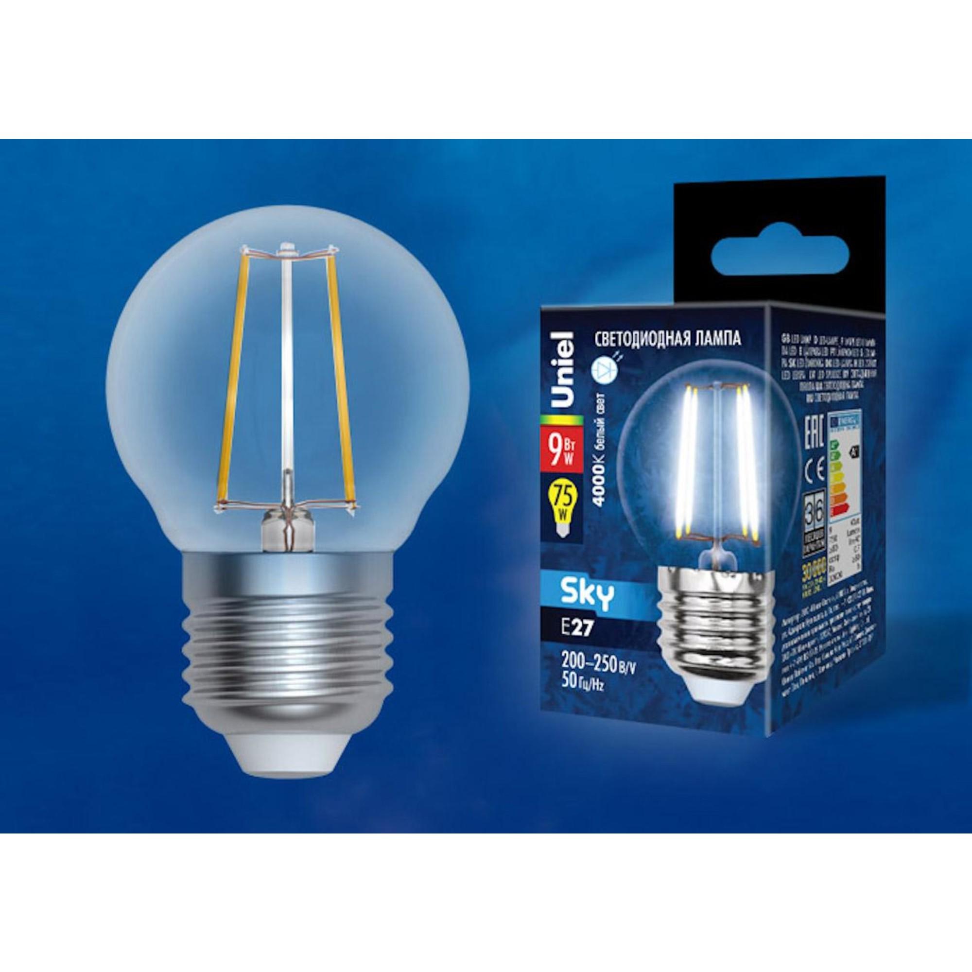 Светодиодная лампочка Uniel UL-00005175 E27 750 Лм 9 Вт