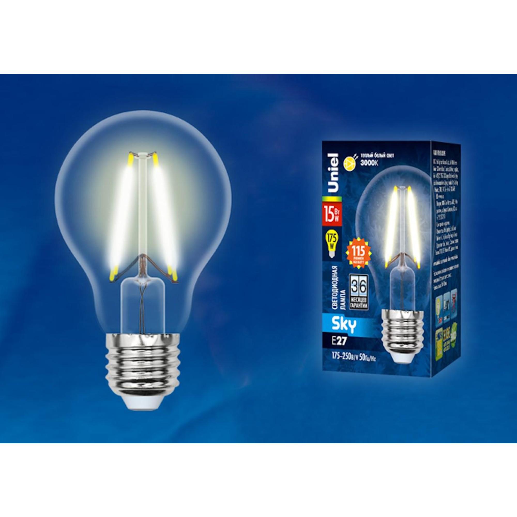 Светодиодная лампочка Uniel UL-00005849 E27 1750 Лм 15 Вт