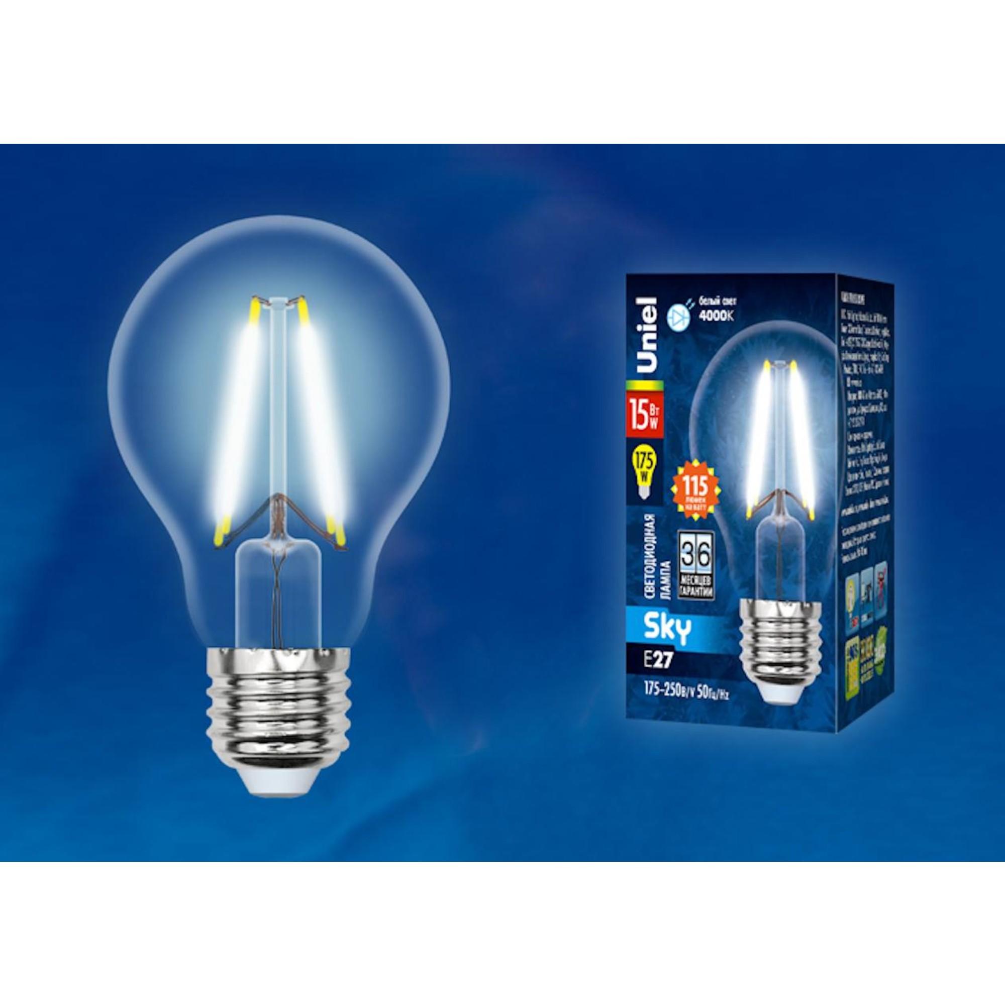 Светодиодная лампочка Uniel UL-00005850 E27 1750 Лм 15 Вт