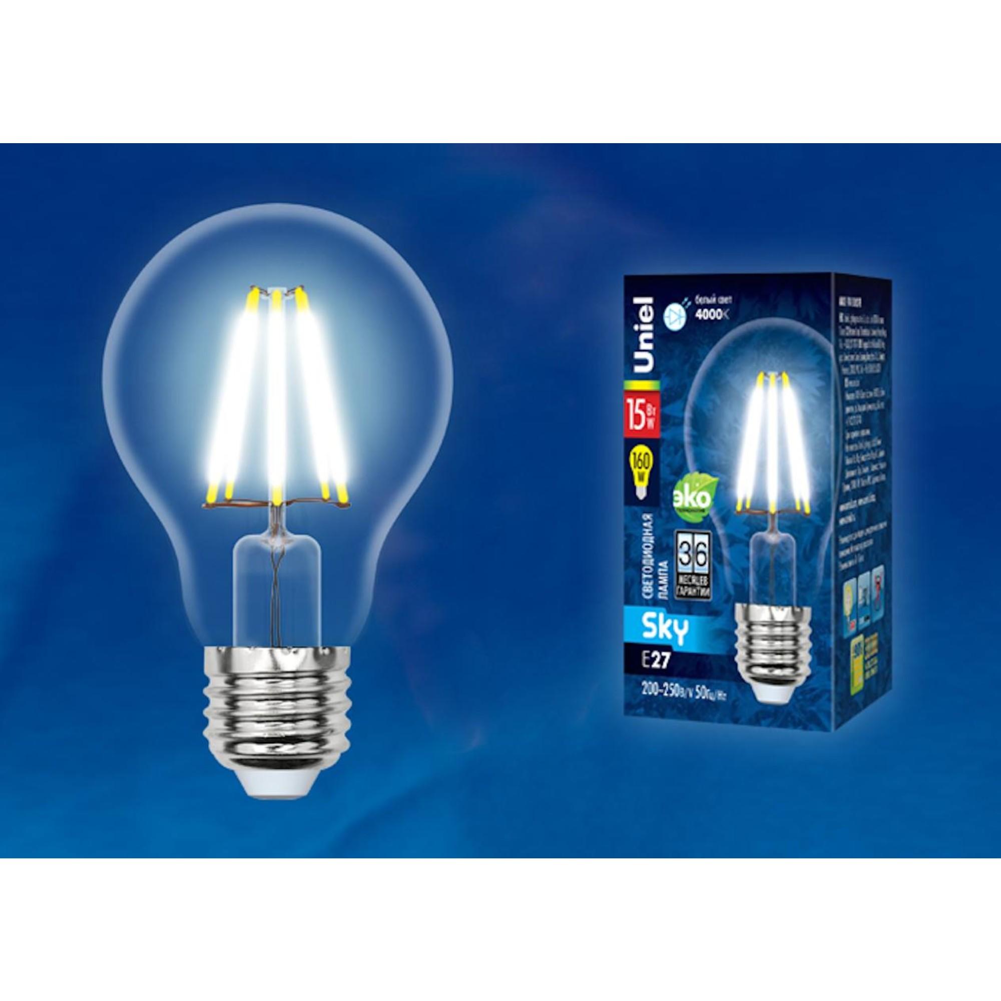 Светодиодная лампочка Uniel UL-00004869 E27 1600 Лм 15 Вт