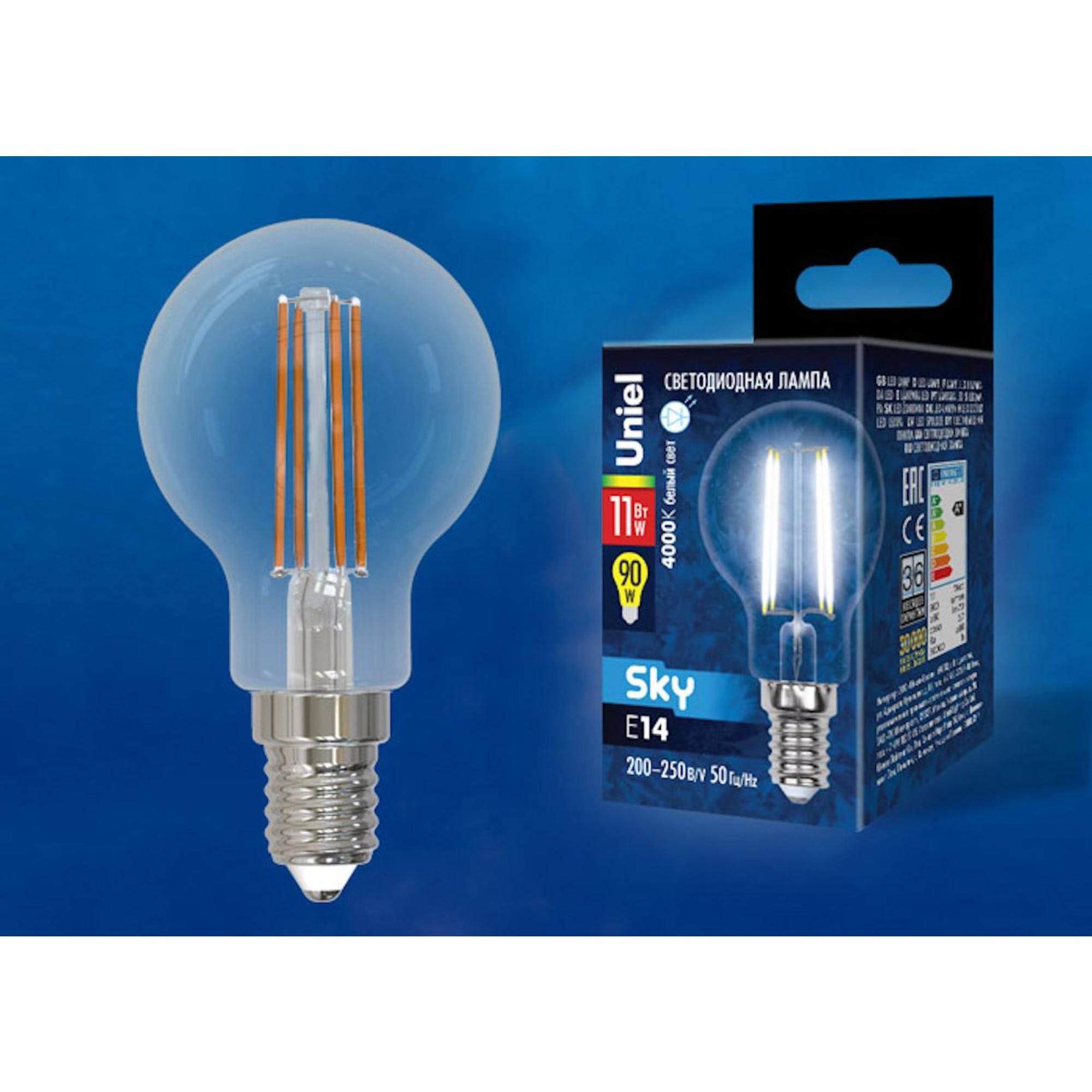 Светодиодная лампочка Uniel UL-00005177 E14 900 Лм 11 Вт