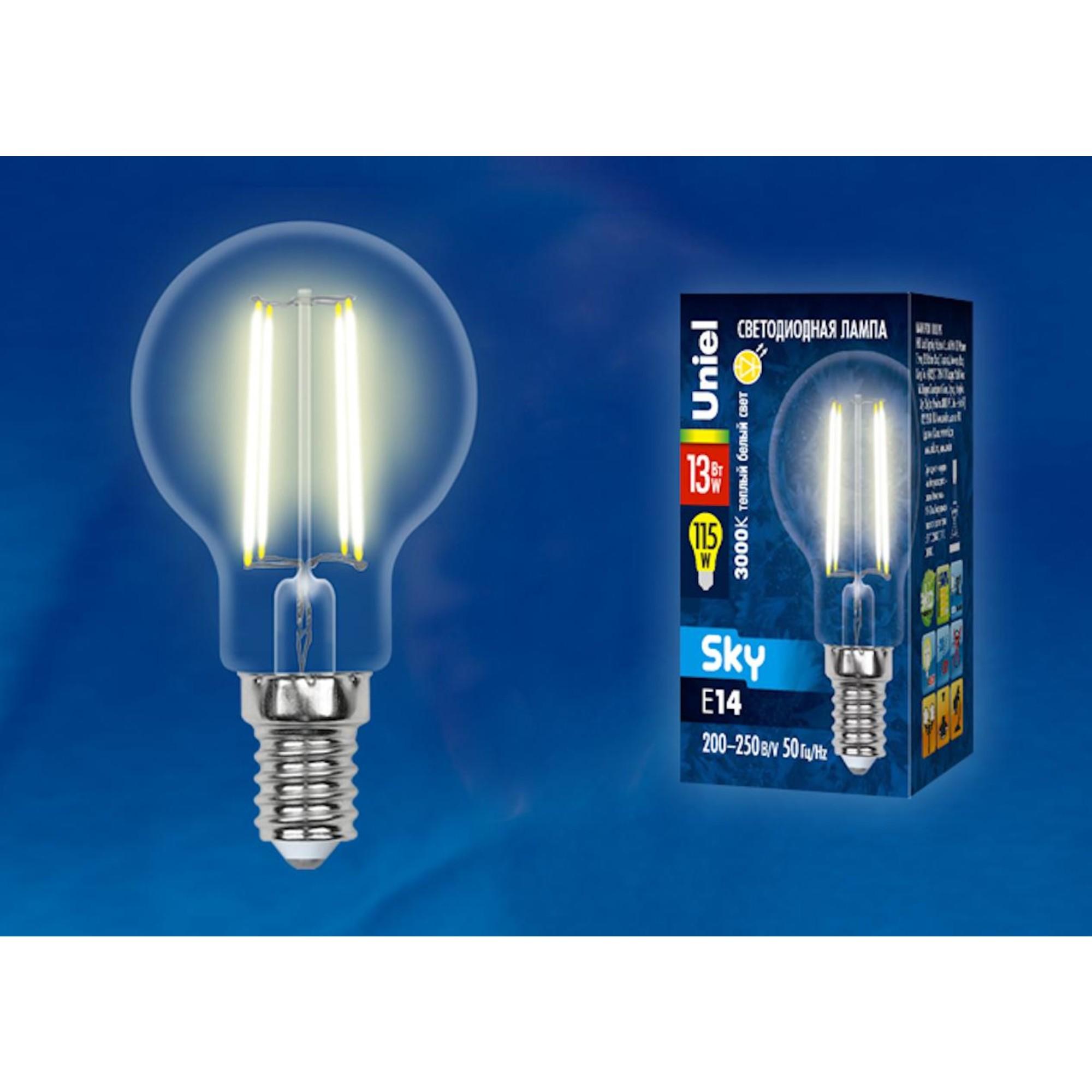 Светодиодная лампочка Uniel UL-00005905 E14 1150 Лм 13 Вт