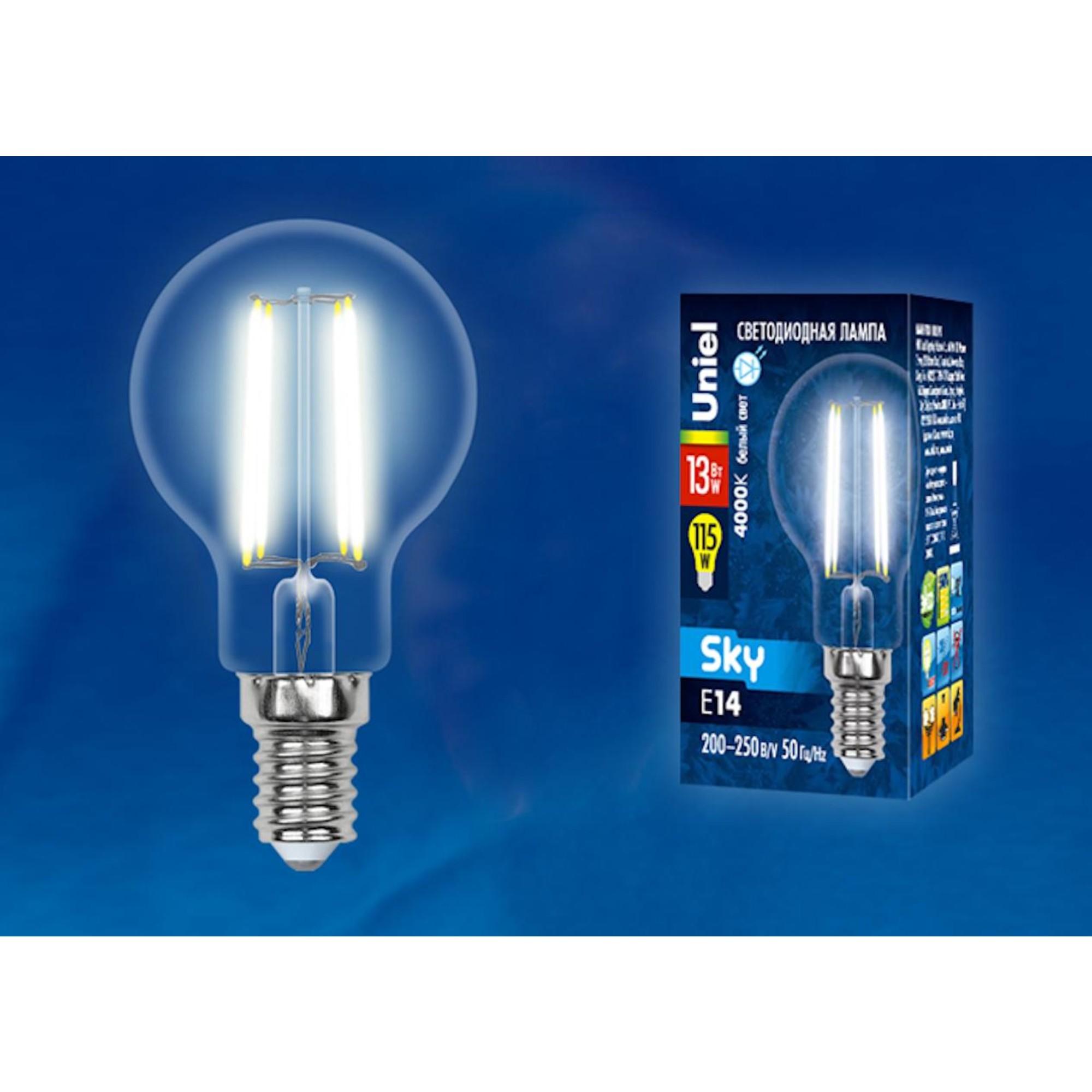 Светодиодная лампочка Uniel UL-00005906 E14 1150 Лм 13 Вт
