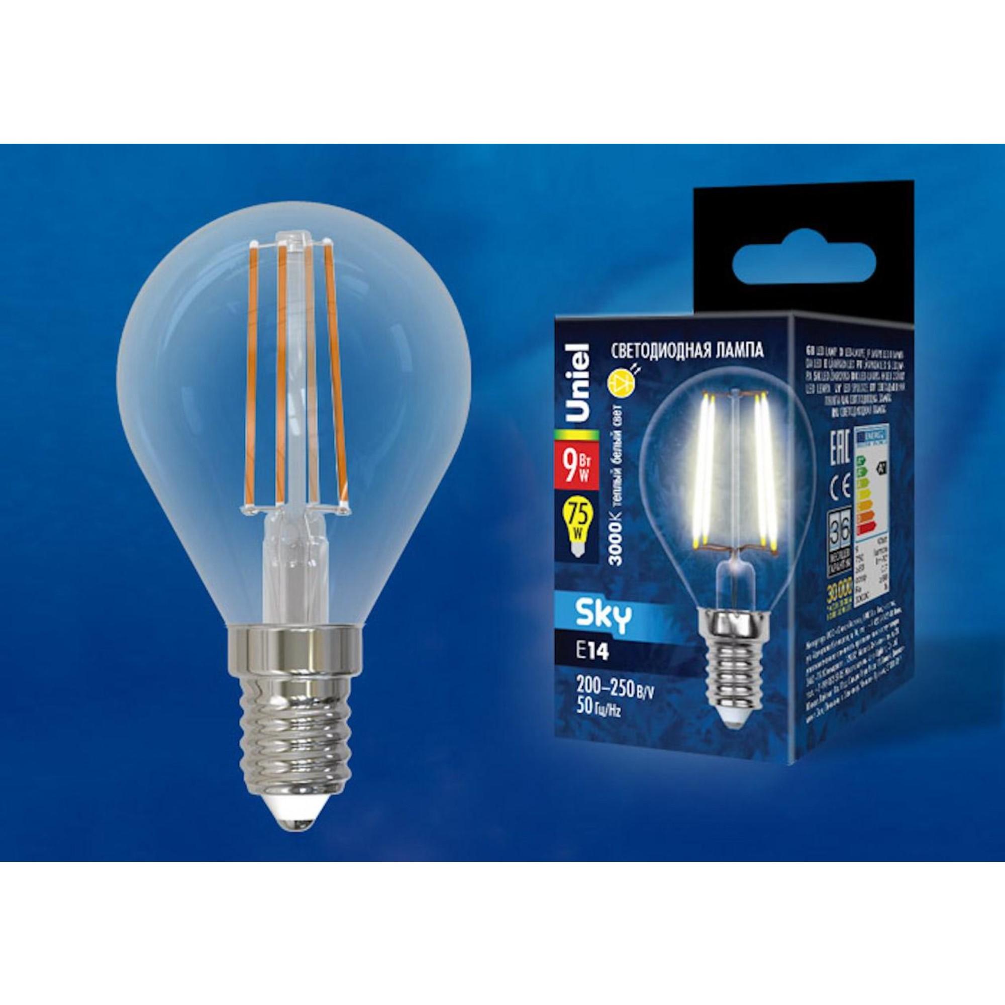 Светодиодная лампочка Uniel UL-00005172 E14 750 Лм 9 Вт