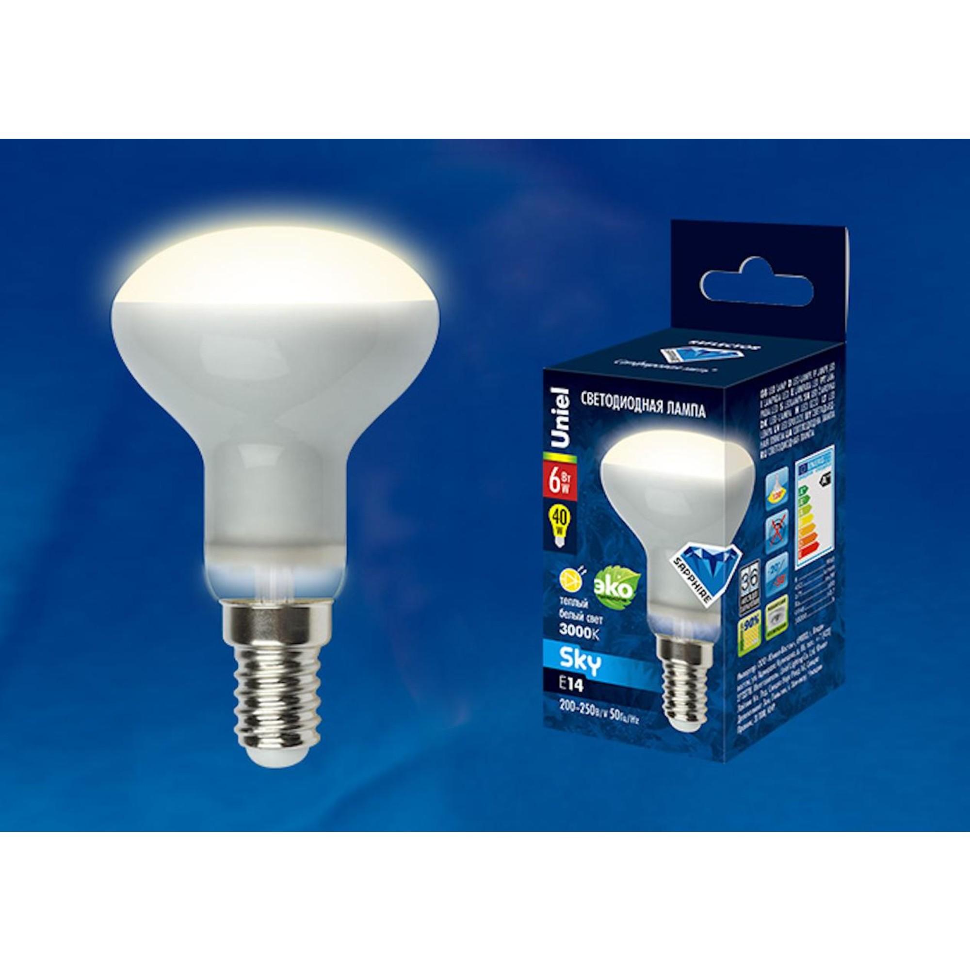 Светодиодная лампочка Uniel UL-00001491 E14 450 Лм 6 Вт