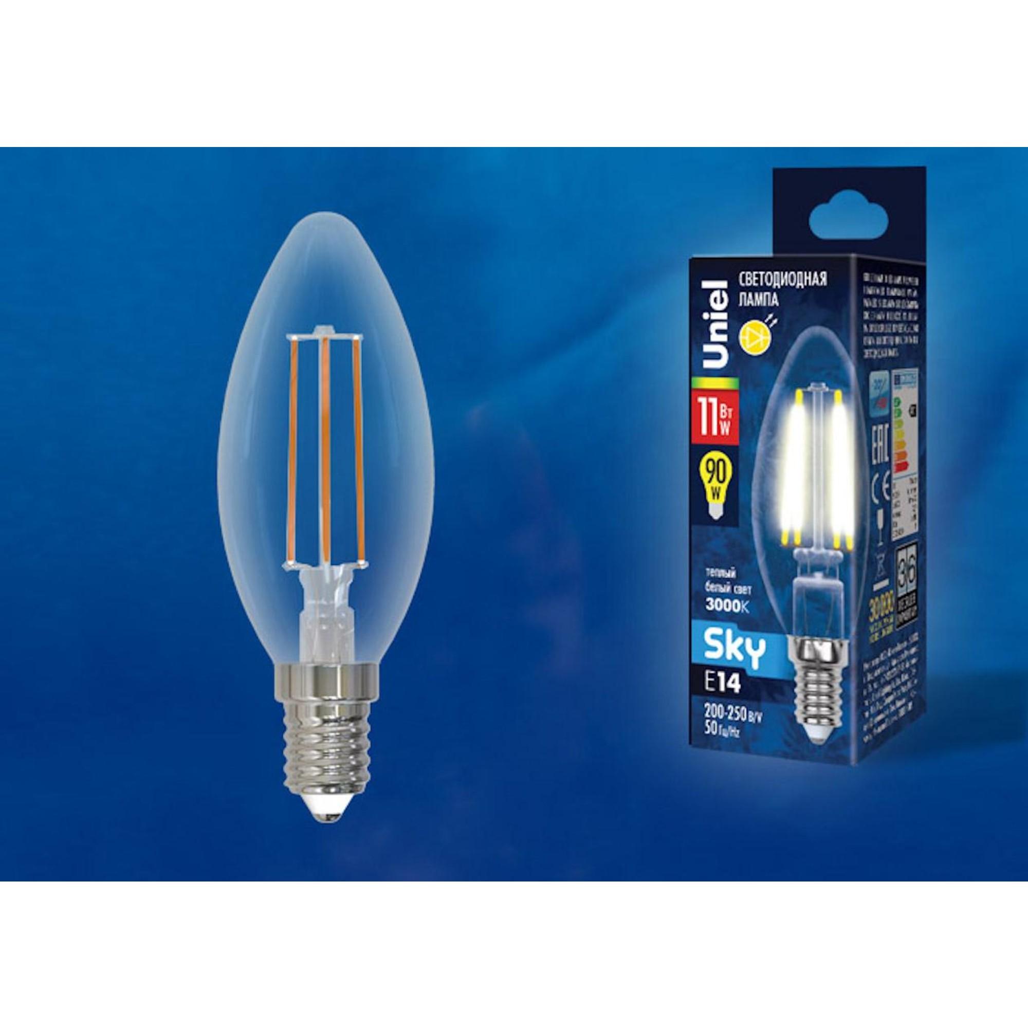 Светодиодная лампочка Uniel UL-00005164 E14 900 Лм 11 Вт