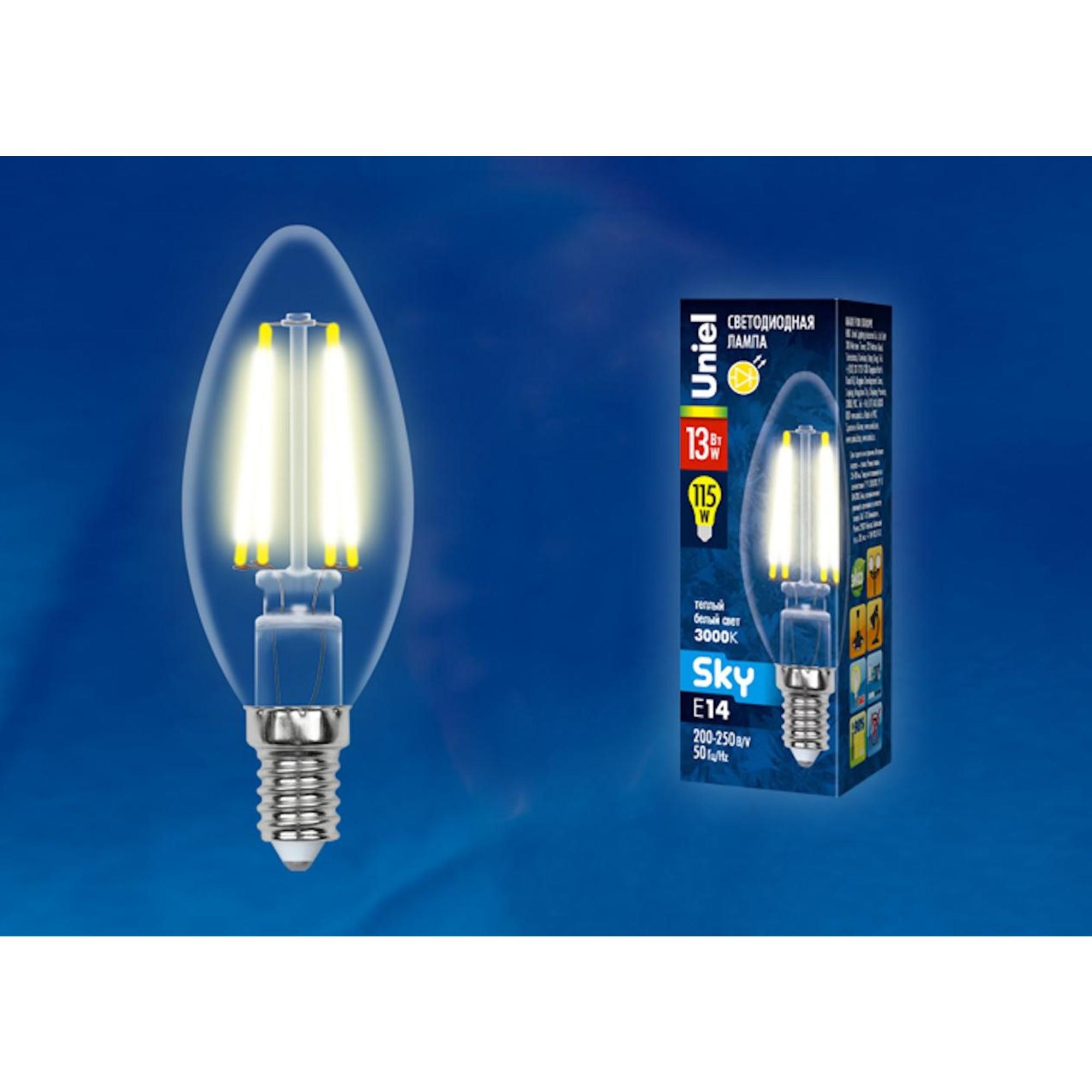 Светодиодная лампочка Uniel UL-00005899 E14 1150 Лм 13 Вт