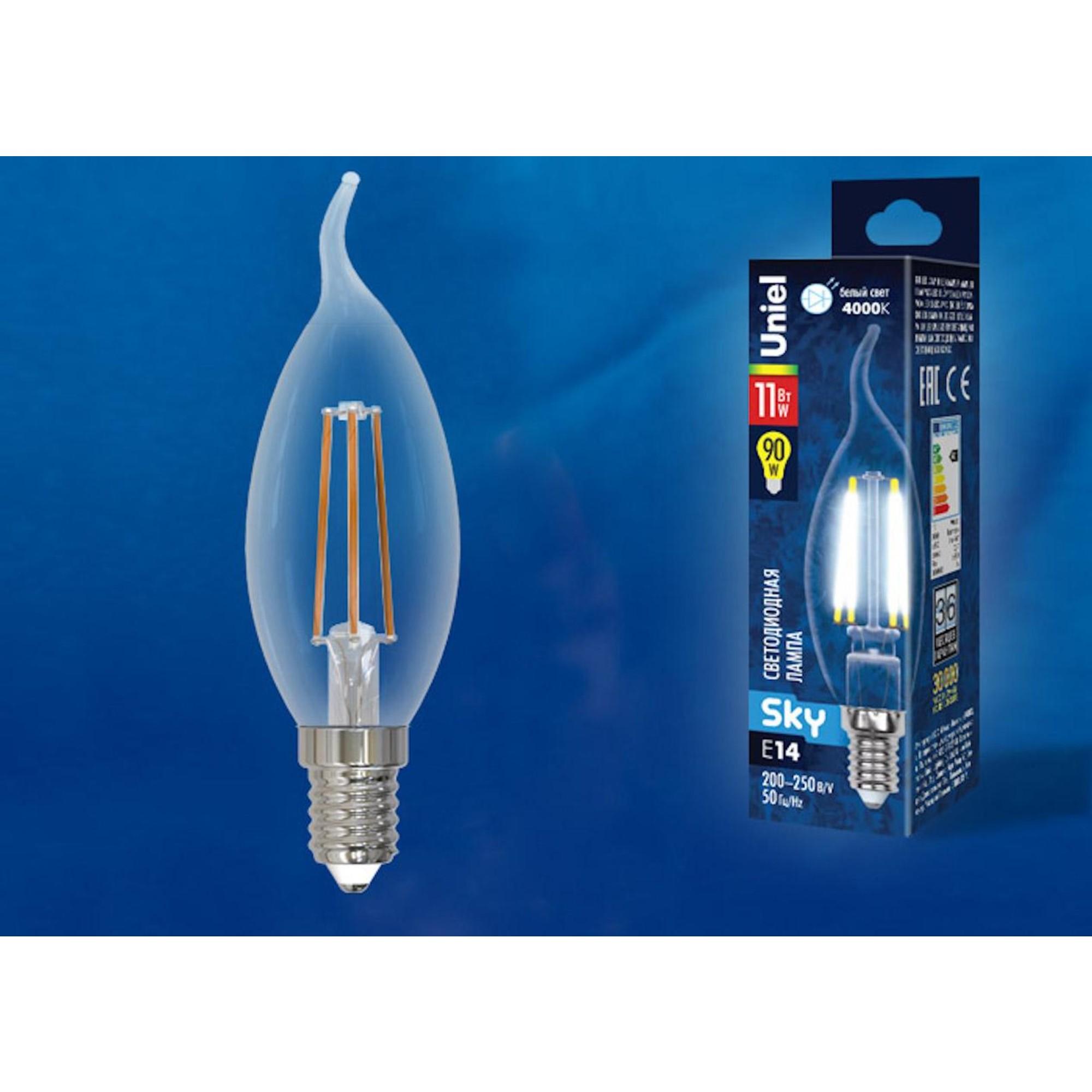 Светодиодная лампочка Uniel UL-00005171 E14 900 Лм 11 Вт