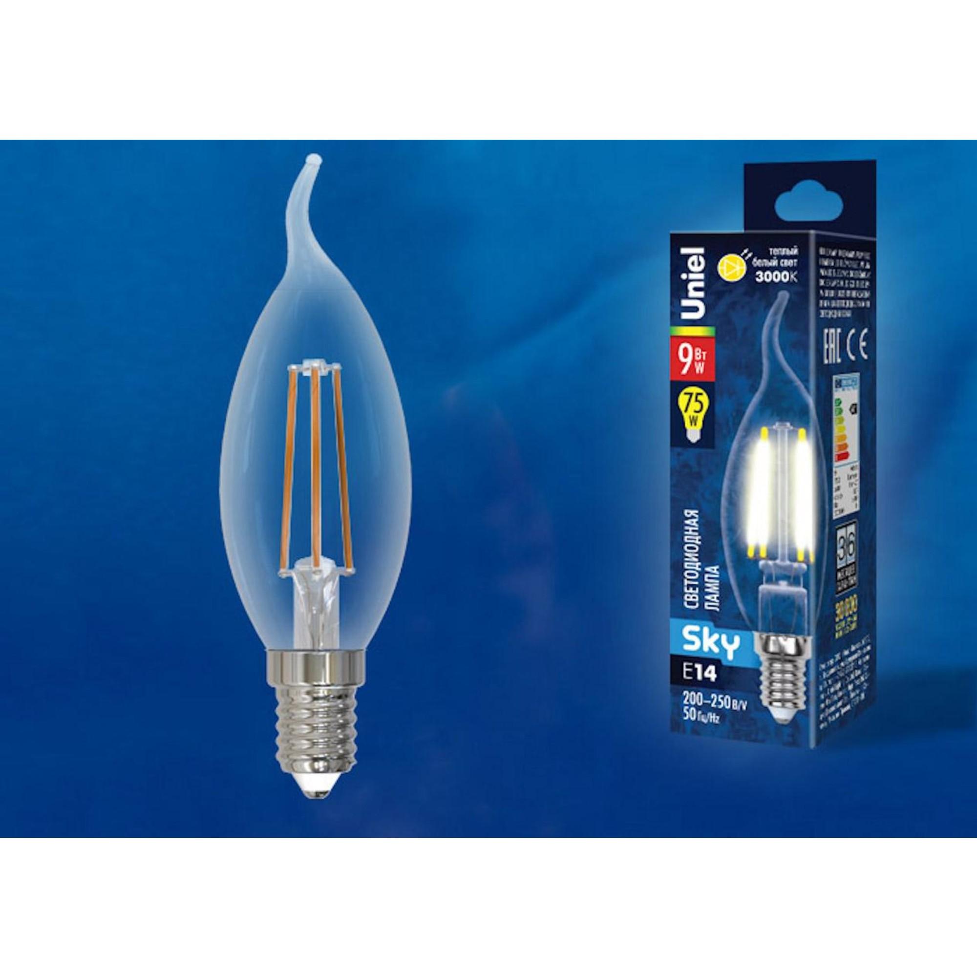 Светодиодная лампочка Uniel UL-00005168 E14 750 Лм 9 Вт