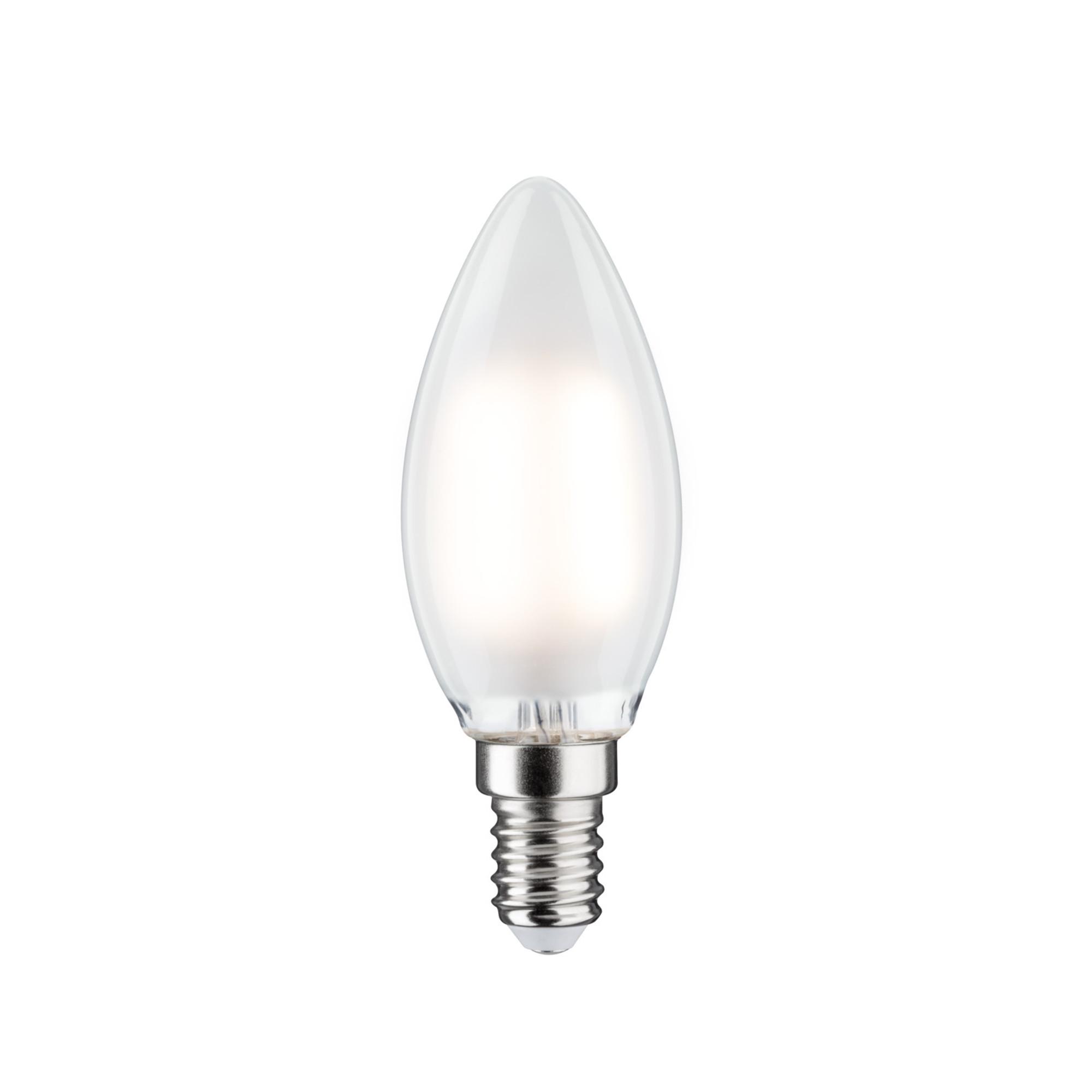 Лампа филаментная Paulmann Свеча 2.5Вт 250лм 2700К E14 230В Сатин 28366.