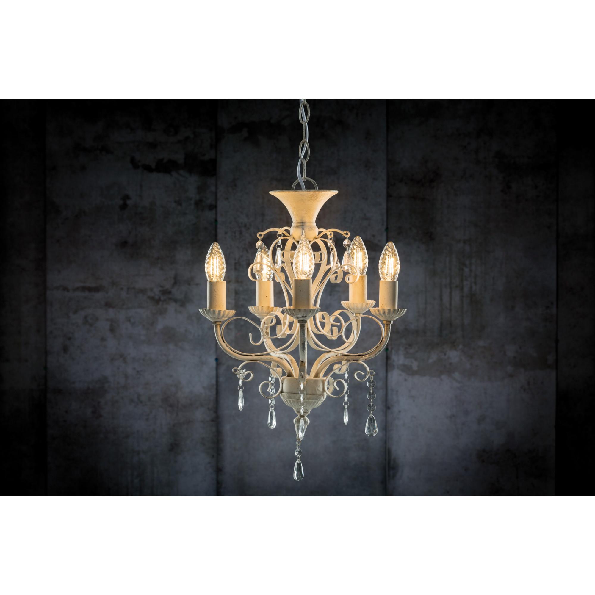 Лампа филаментная Paulmann Свеча витая 2.5Вт 250лм 2700К E14 230В Прозрачный 28371.