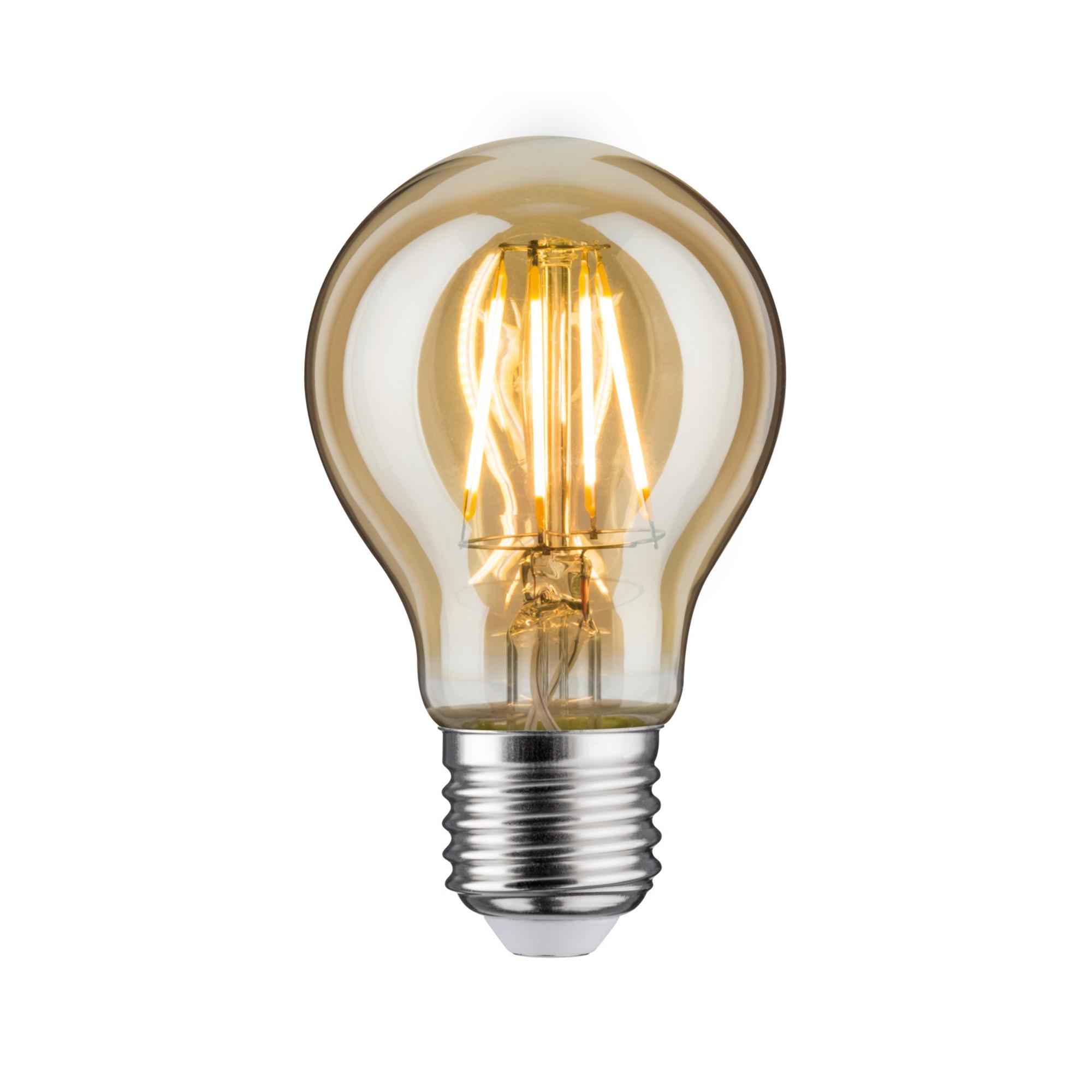 Лампа филаментная Paulmann Общего назначения 5Вт 380лм 2500К E27 230В Золото 28374.