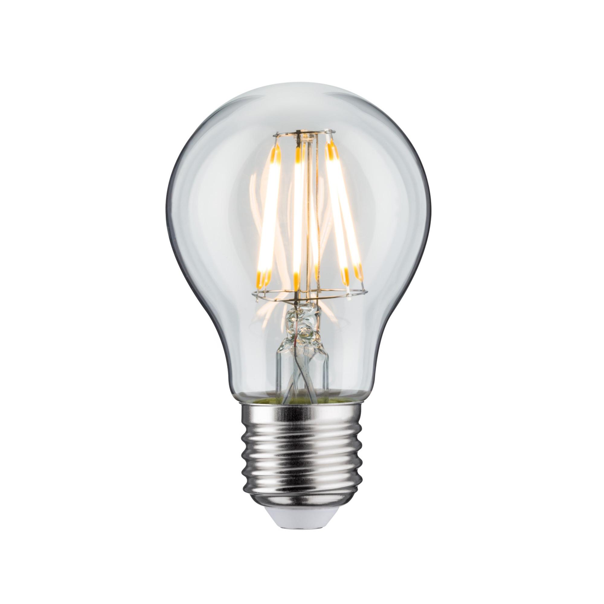 Лампа филаментная Paulmann Общего назначения 7.5Вт 806лм 2700К Е27 230В Прозрачный 28377.