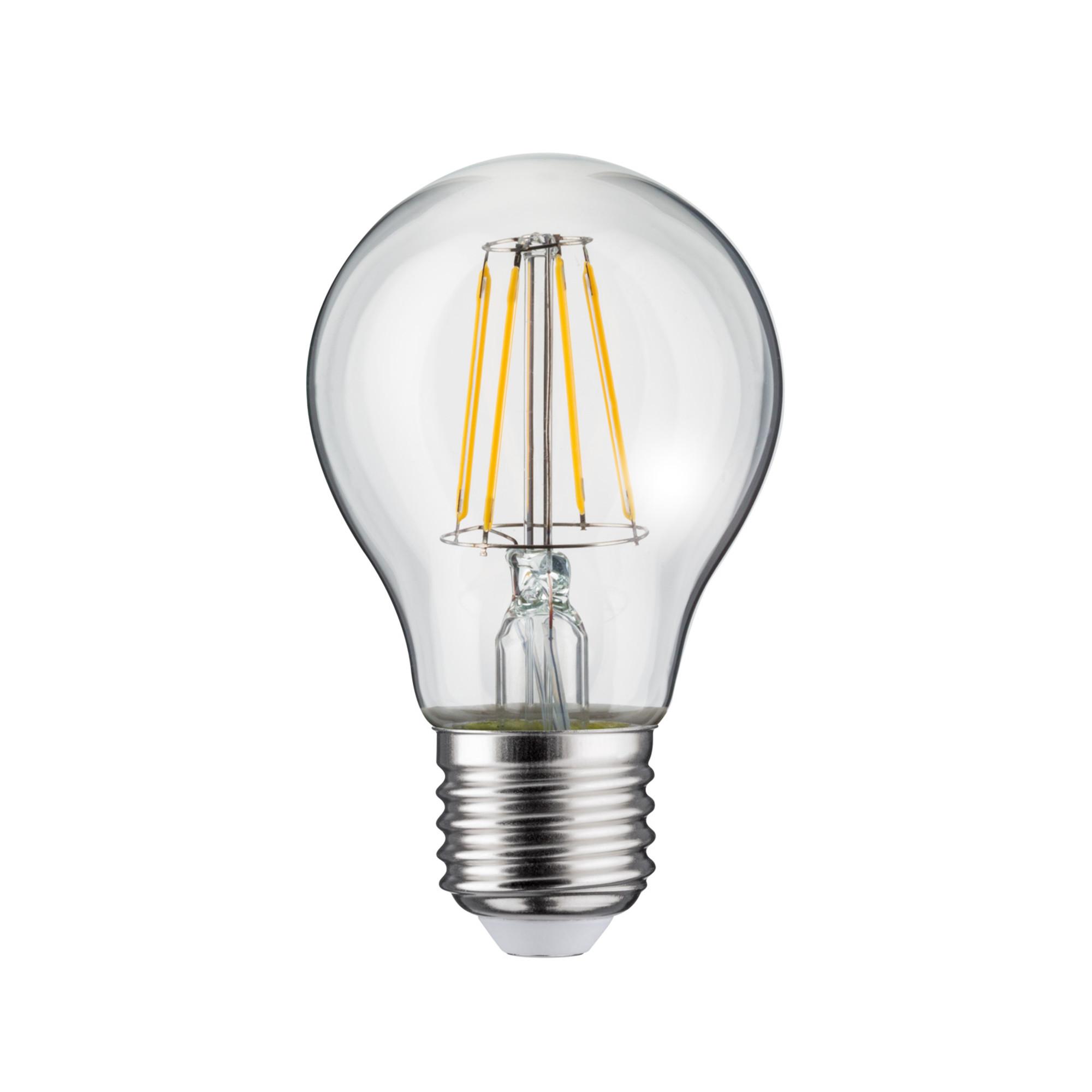 Лампа филаментная Paulmann Общего назначения 5Вт 470лм 2700К Е27 230В Прозрачный 28378.