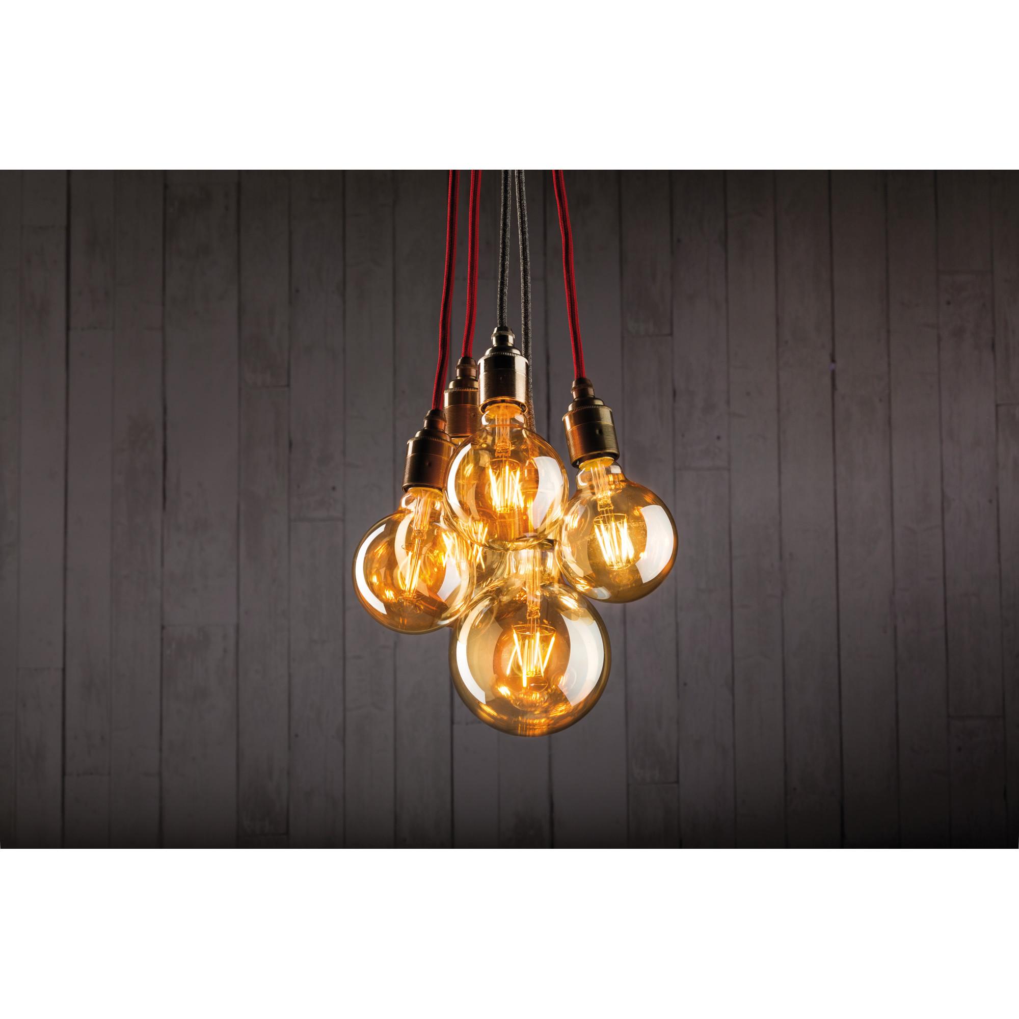Лампа филаментная Paulmann Шар G125 6.5Вт 420лм 1700К Е27 230В Золото 28381.