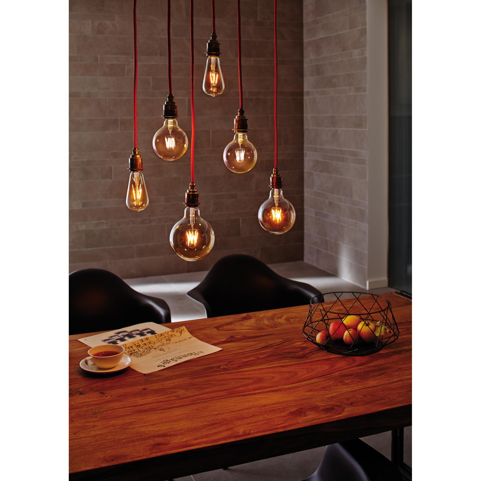 Лампа филаментная Paulmann Шар G95 6.5Вт 550лм 2500К Е27 230В Золото 28386.