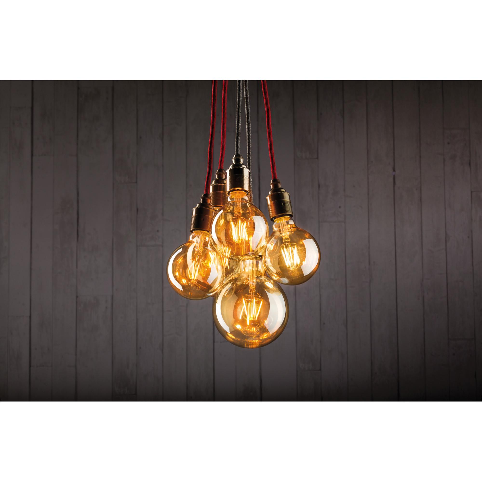 Лампа филаментная Paulmann Шар G95 2.5Вт 170лм 1700К Е27 230В Золото 28388.