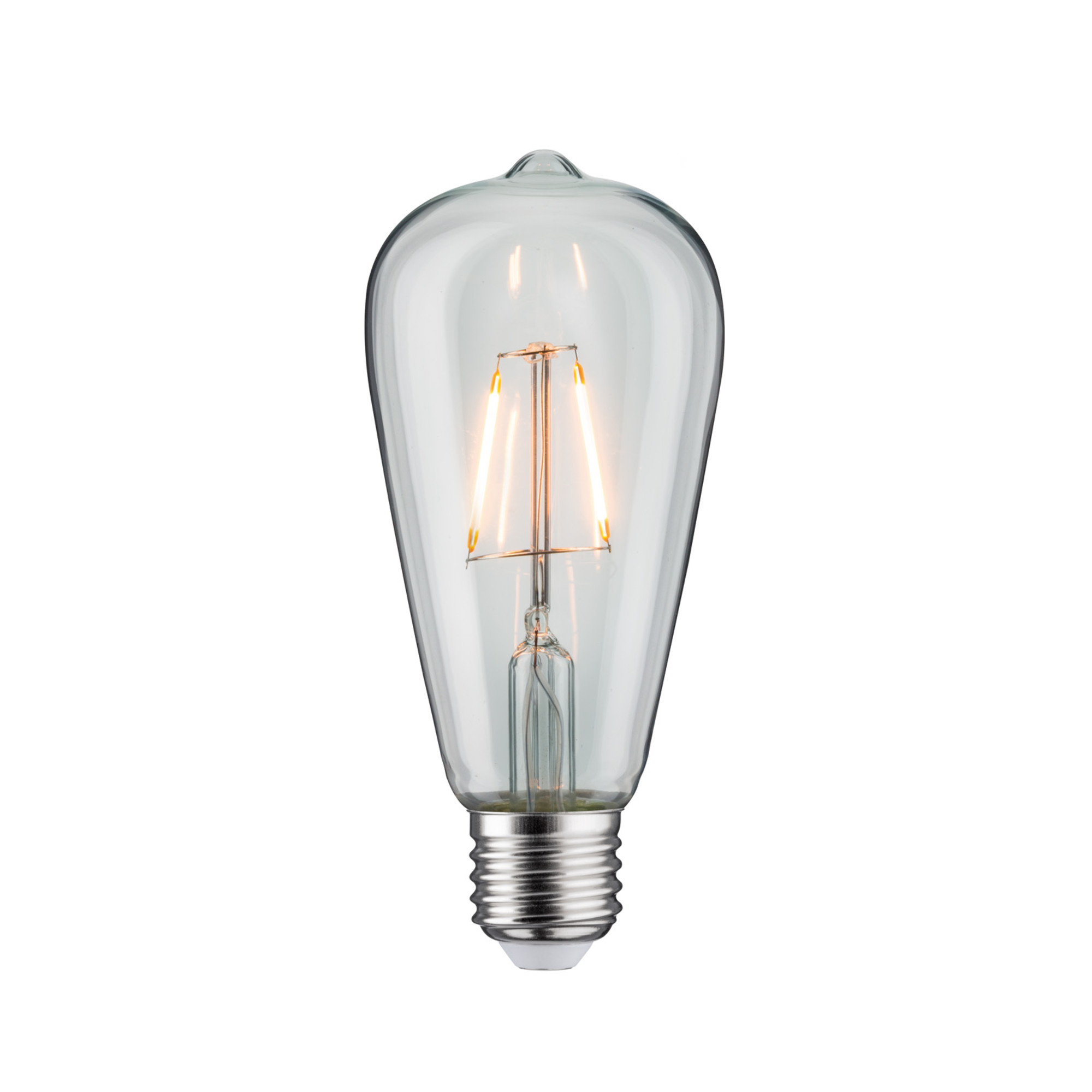 Лампа филаментная Paulmann Vintage ST64 2.5Вт 180лм 1700К E27 230В Прозрачный 28393.