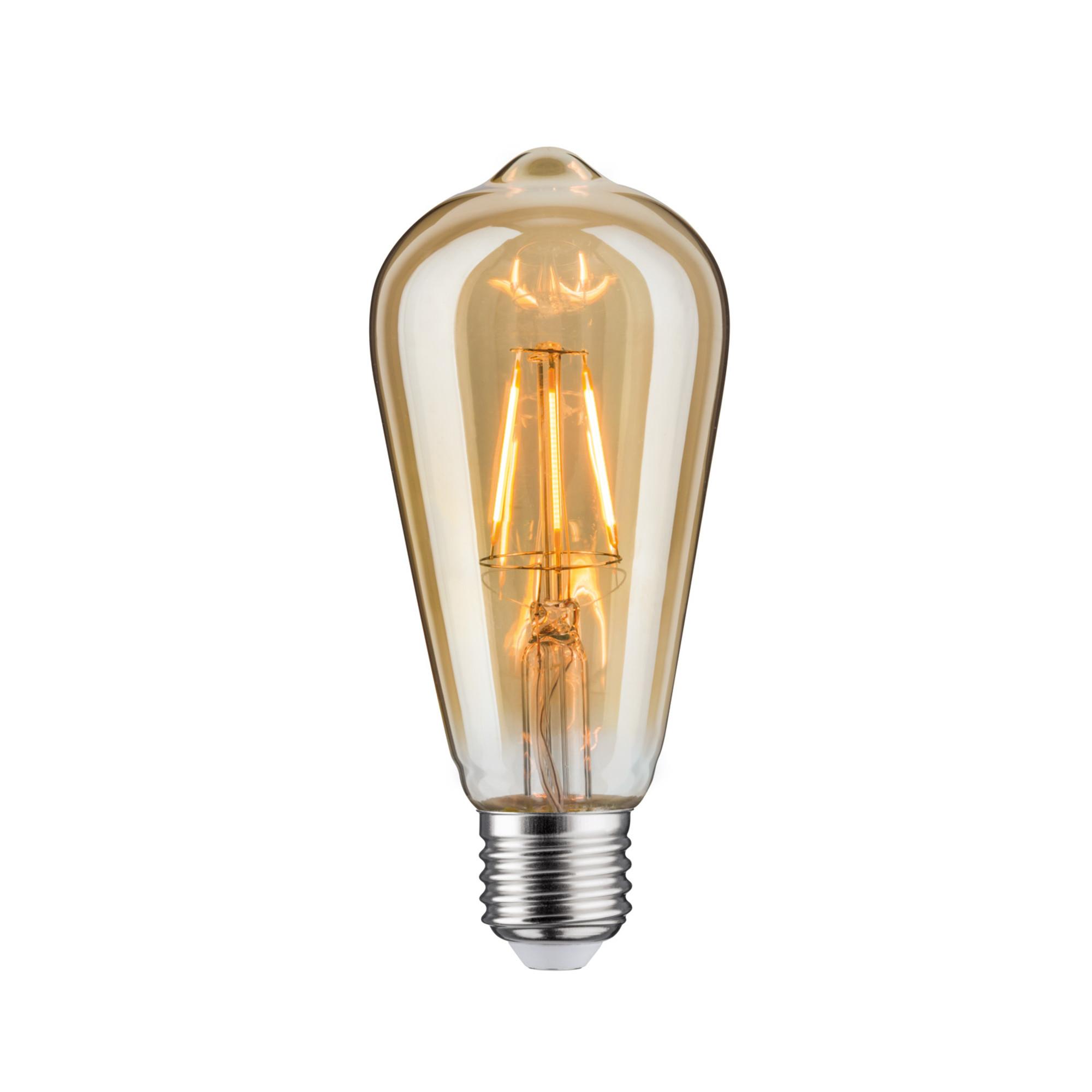 Лампа филаментная Paulmann Vintage ST64 4Вт 250лм 1700К E27 230В Золото 28395.
