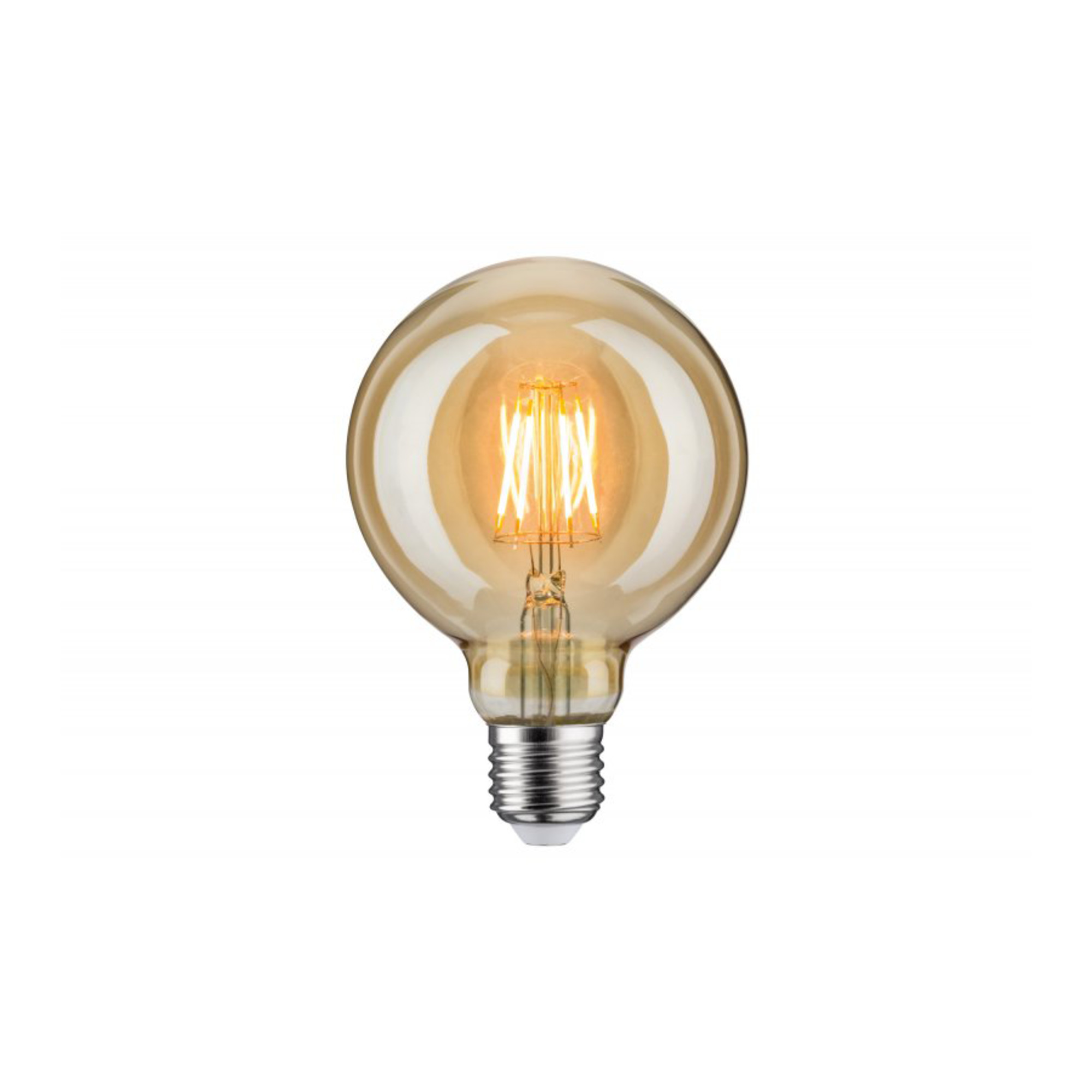 Лампа филаментная Paulmann Vintage Шар G95 6.5Вт 400лм 1700К Е27 230В Золото 28400.