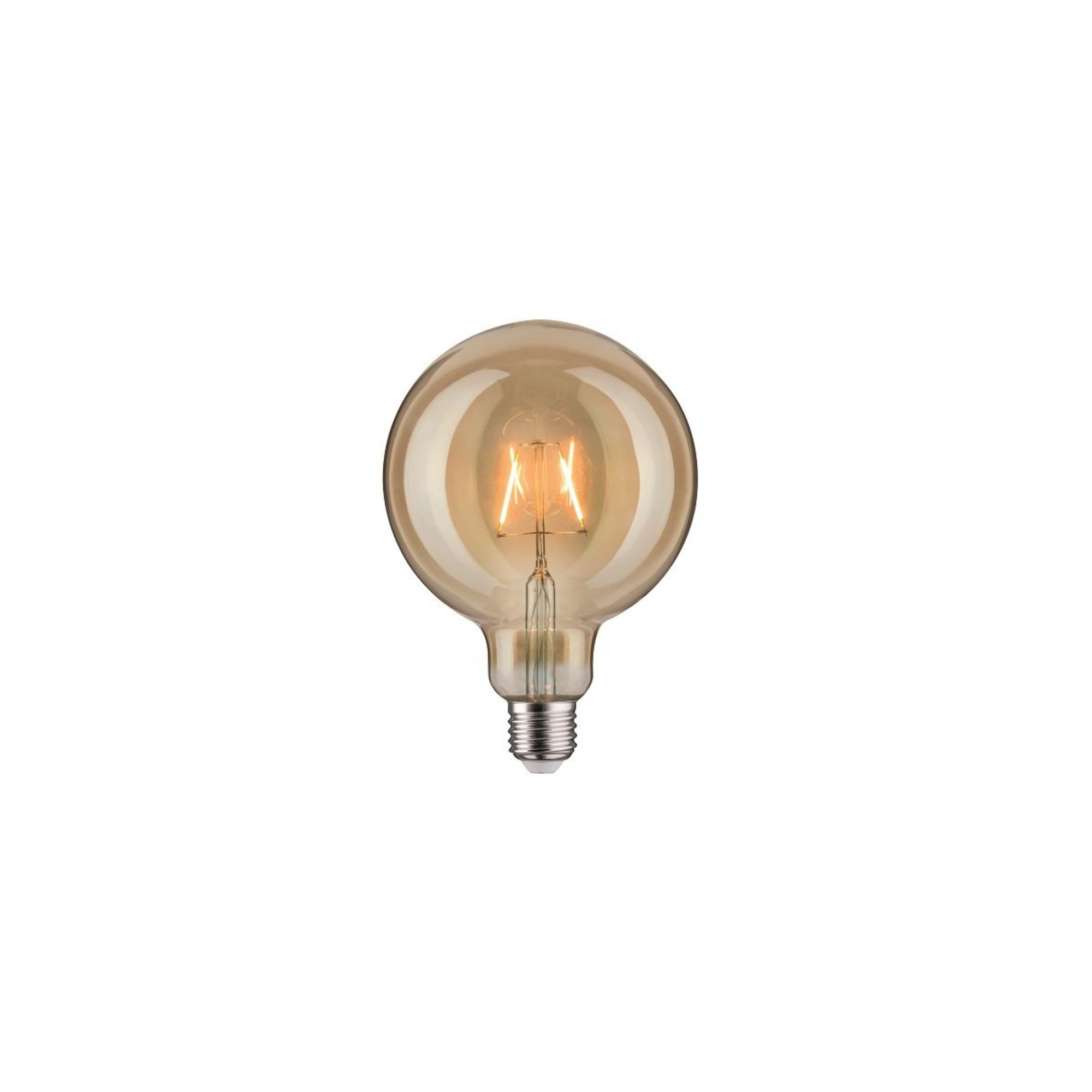 Лампа филаментная Paulmann Vintage Шар G125 2.5Вт 170лм 1700К Е27 230В Золото 28401.