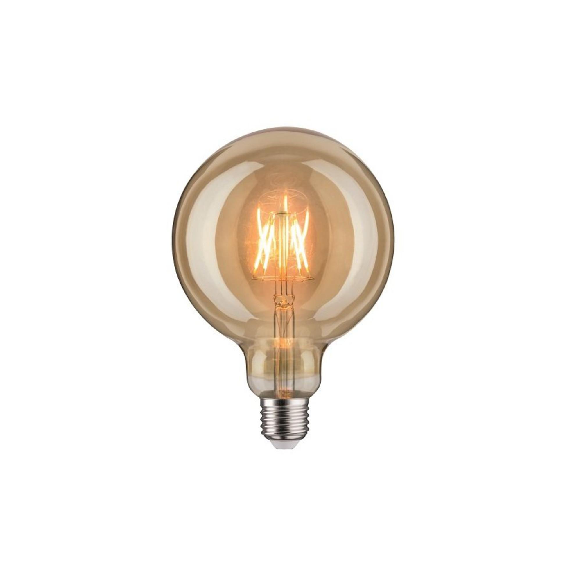 Лампа филаментная Paulmann Vintage Шар G125 6.5Вт 420лм 1700К Е27 230В Золото 28403.